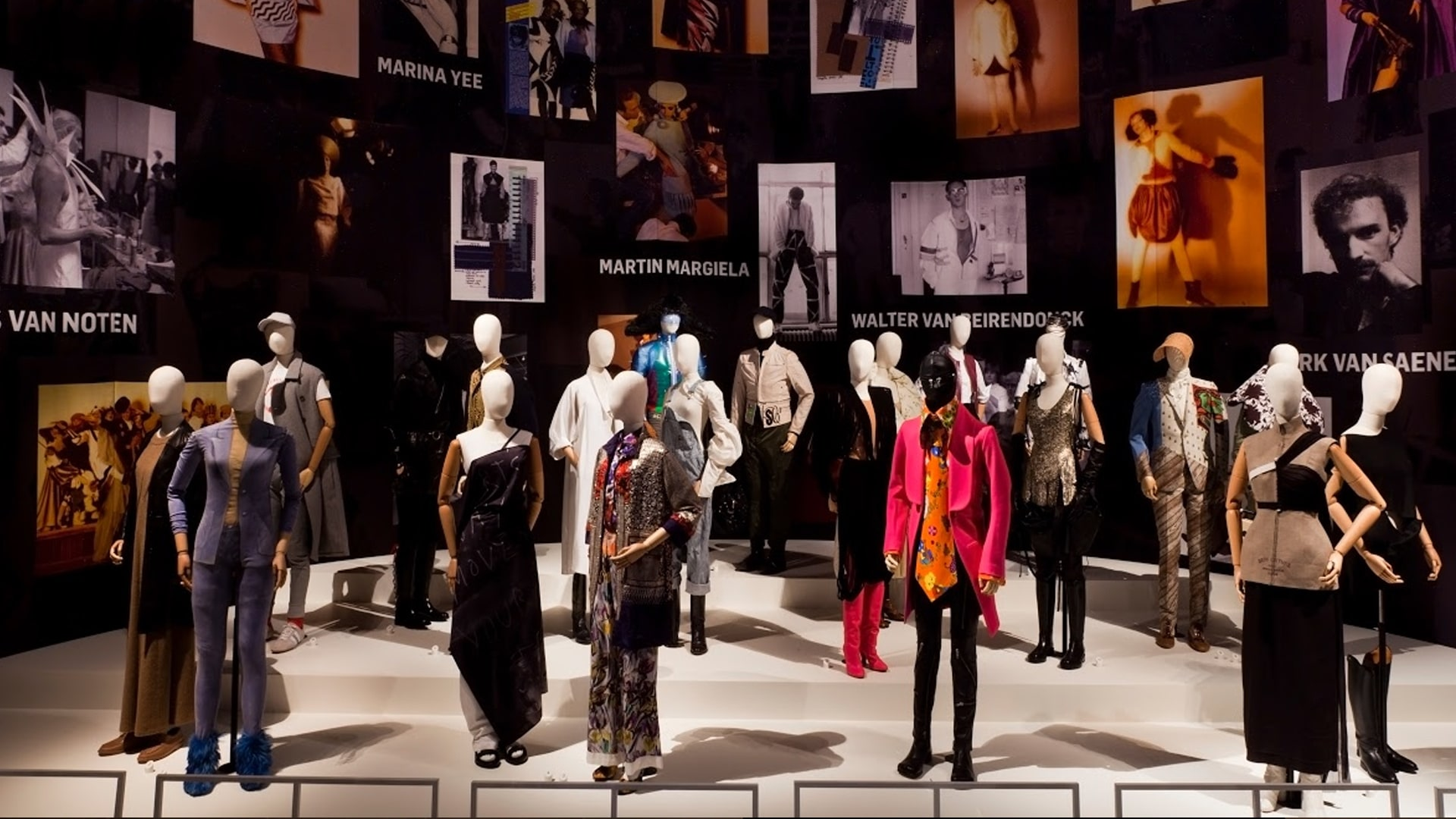 Momu Fashion Museum virtual tour Antwerp Fashion and the 6+1
