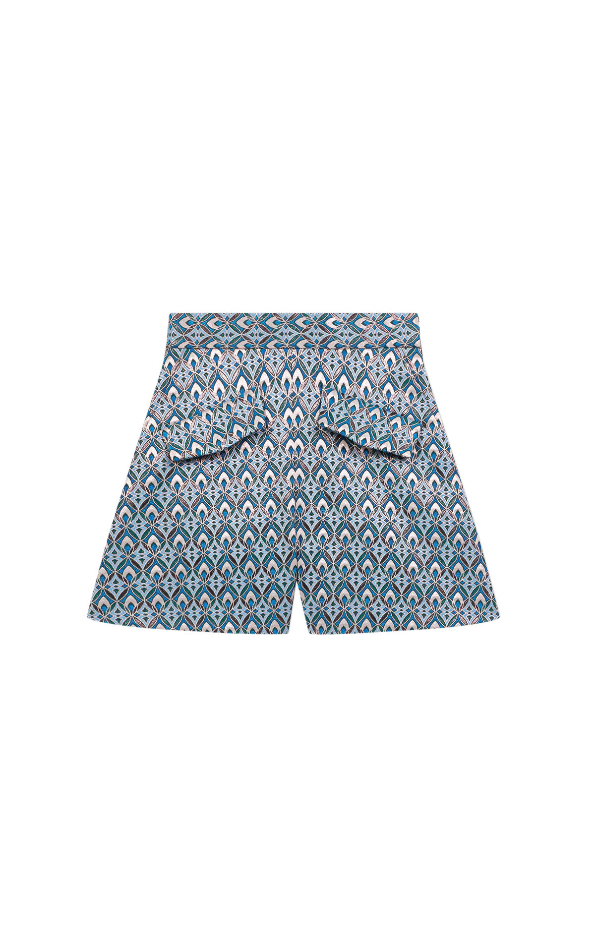 Maje Lurex Jacquard Shorts at The Bicester Village Shopping Collection