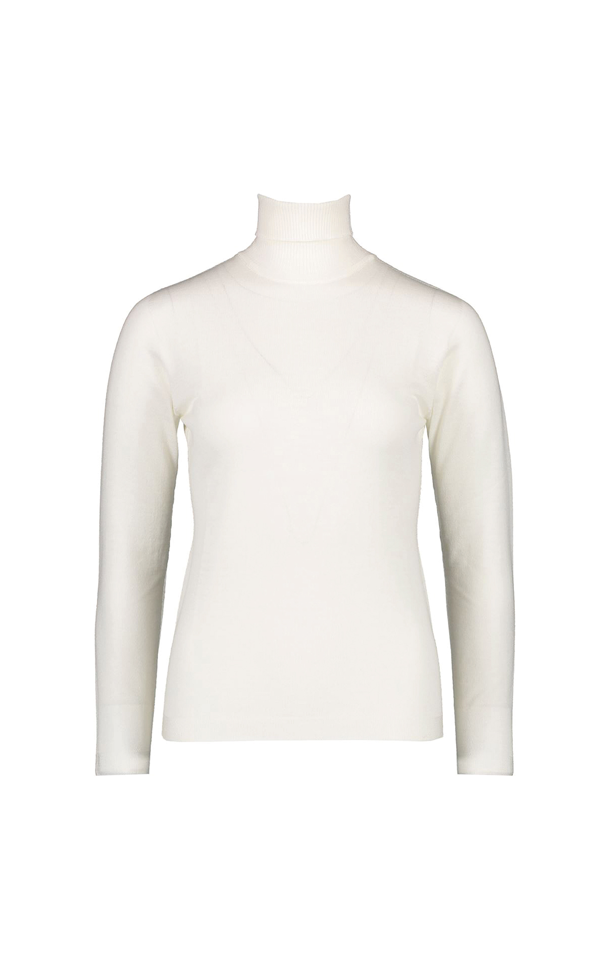 White turtleneck sweater Escada