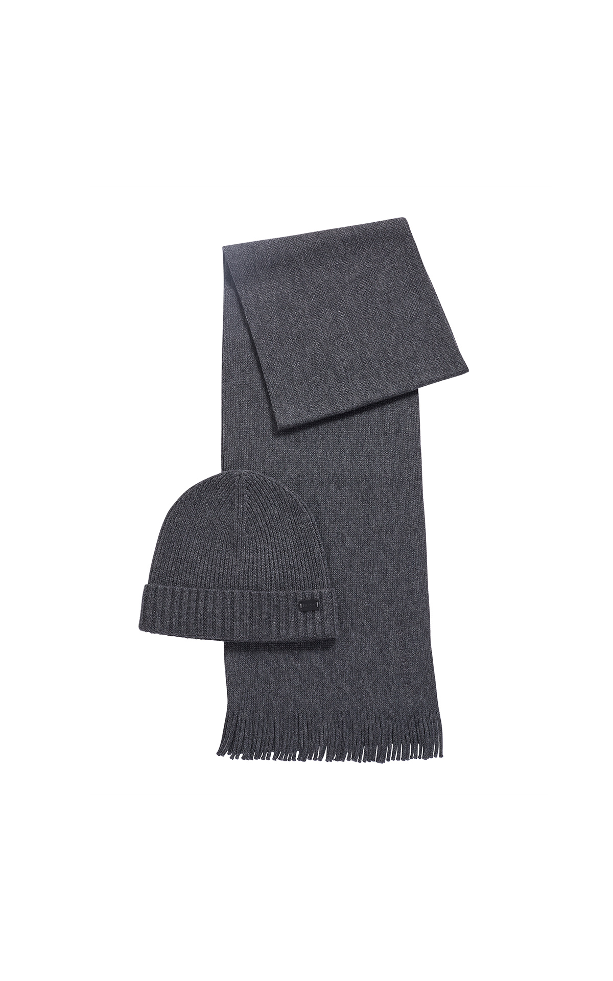 BOSS Beanie and scarf set