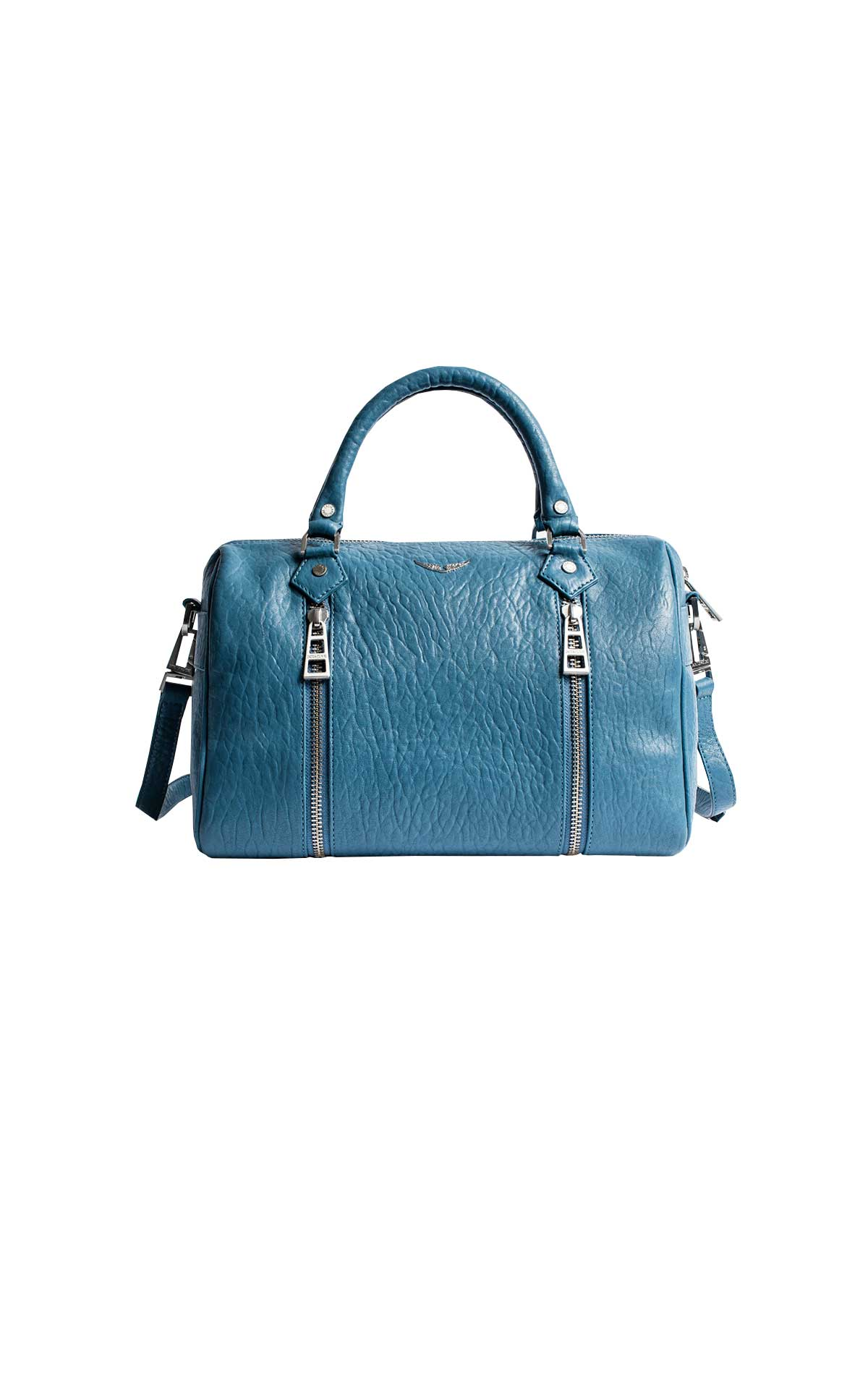 Blue leather bag Zadig & Voltaire