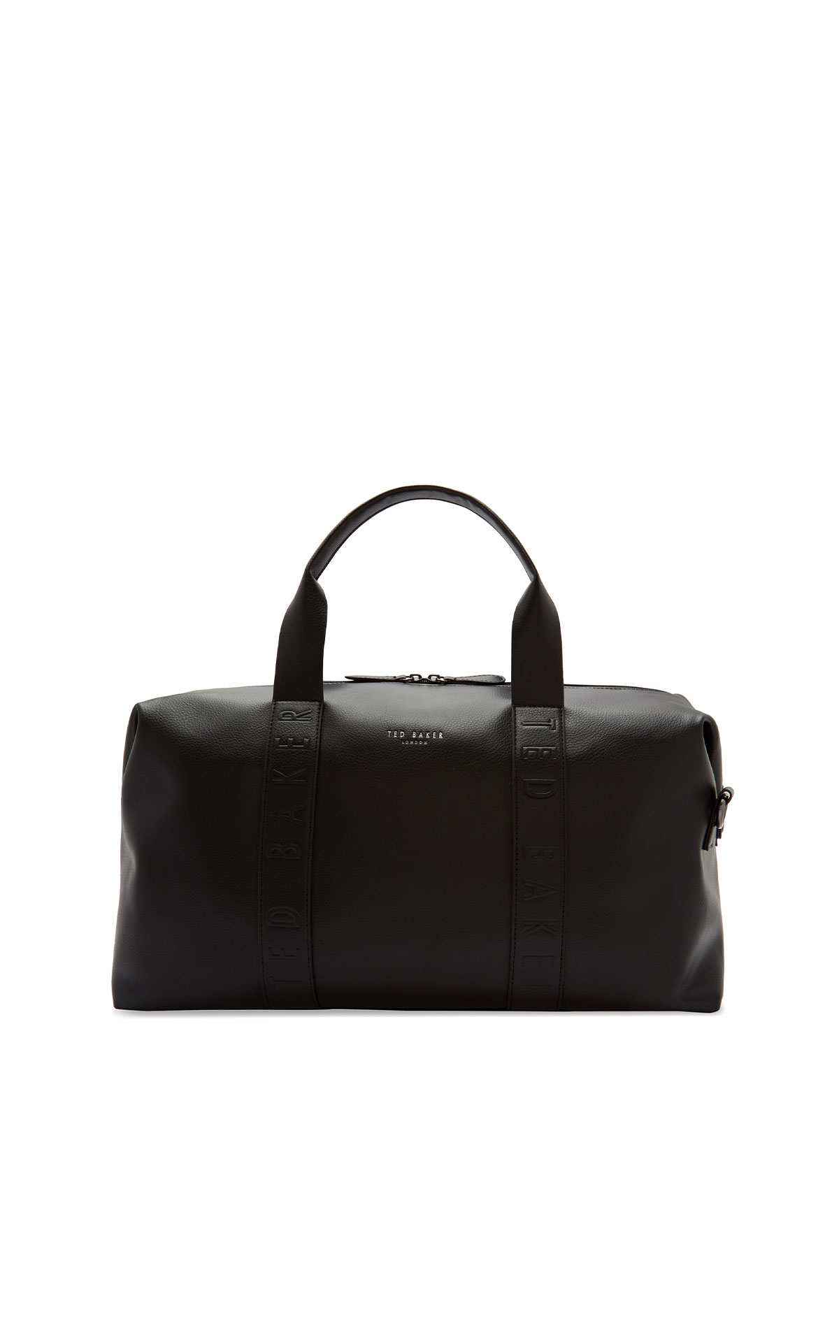 Ted Baker Moral black debossed holdall from Bicester Village