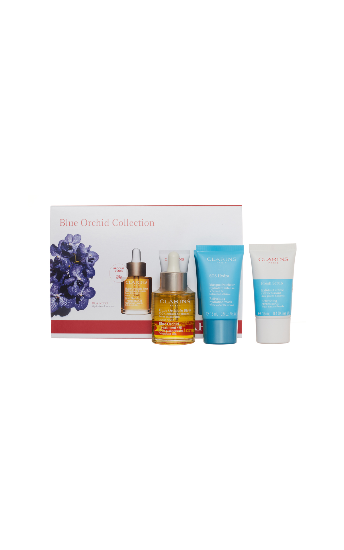 Clarins  Blue orchid face oil from Bicester Village