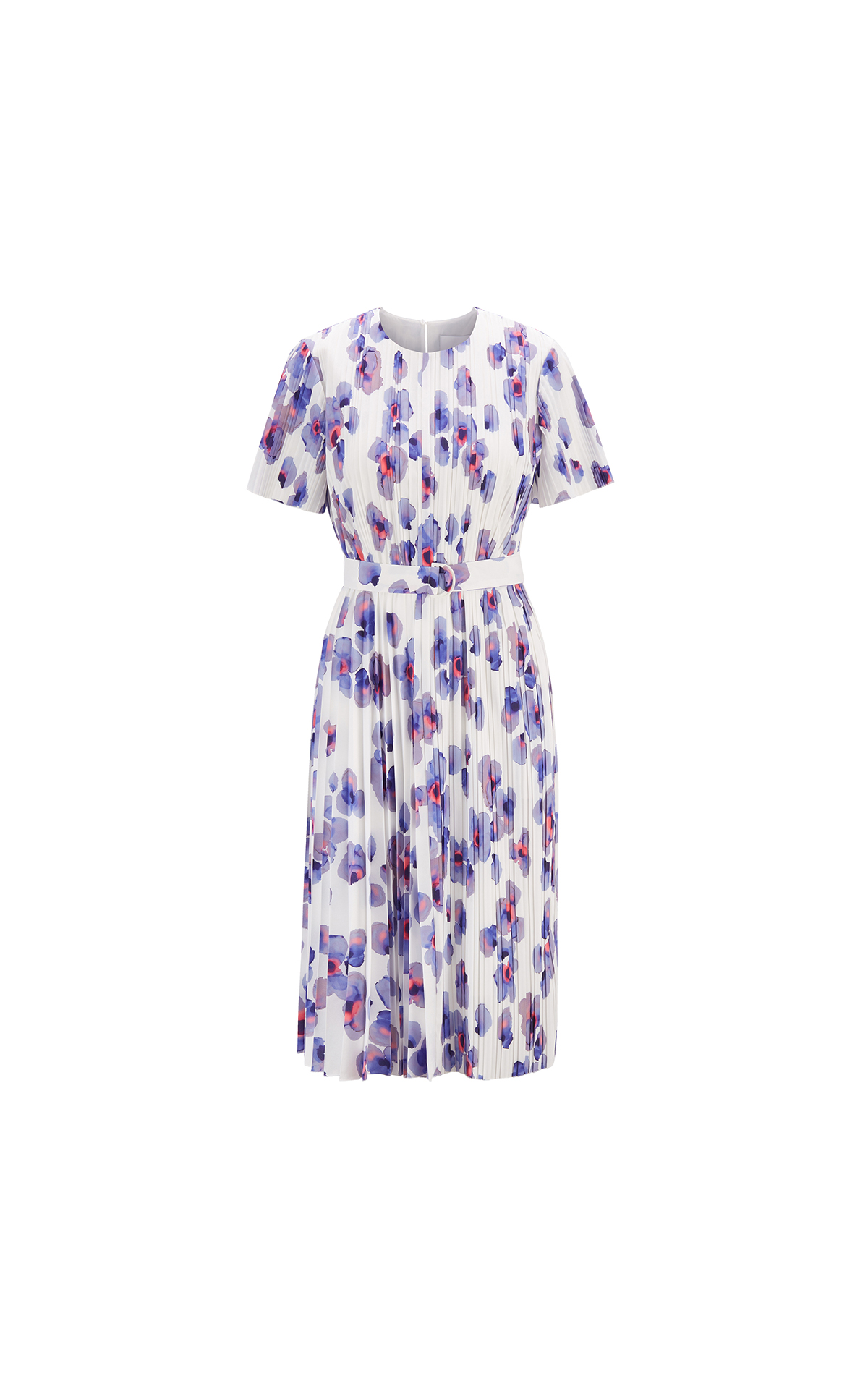 BOSS Women's plissé dress at The Bicester Village Shopping Collection