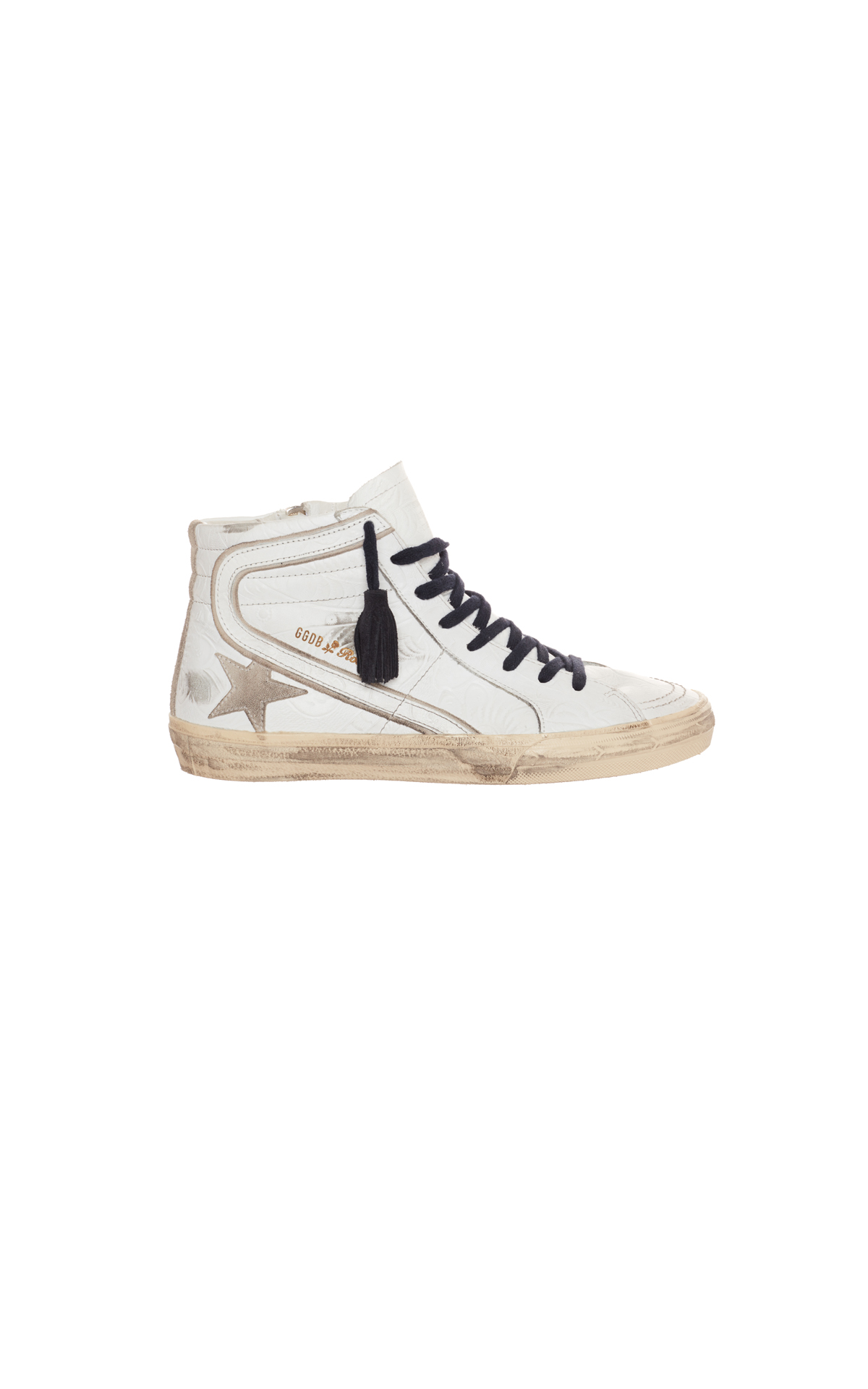 Golden Goose Deluxe Brand Slide tex sneakers from Bicester Village