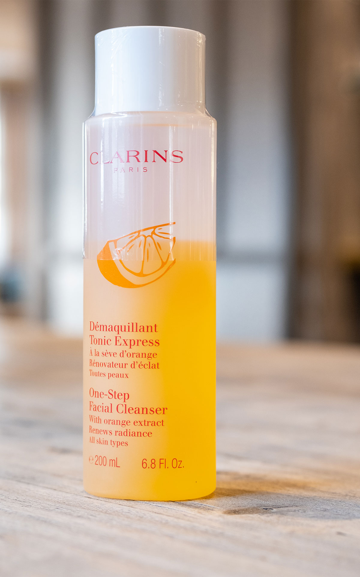 Clarins One-step facial cleanser from Bicester Village