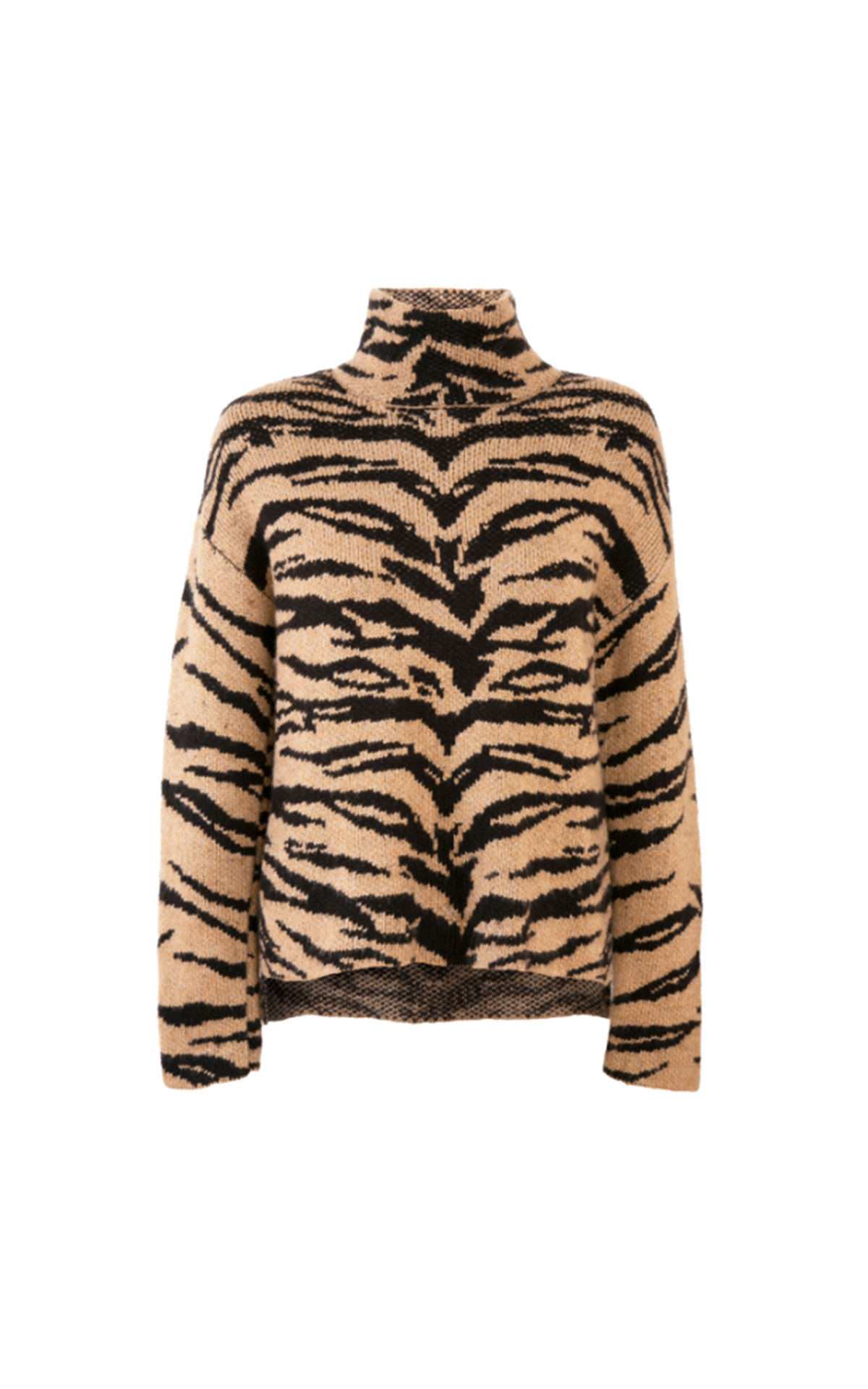 DKNY Zebra turtleneck sweater from Bicester Village