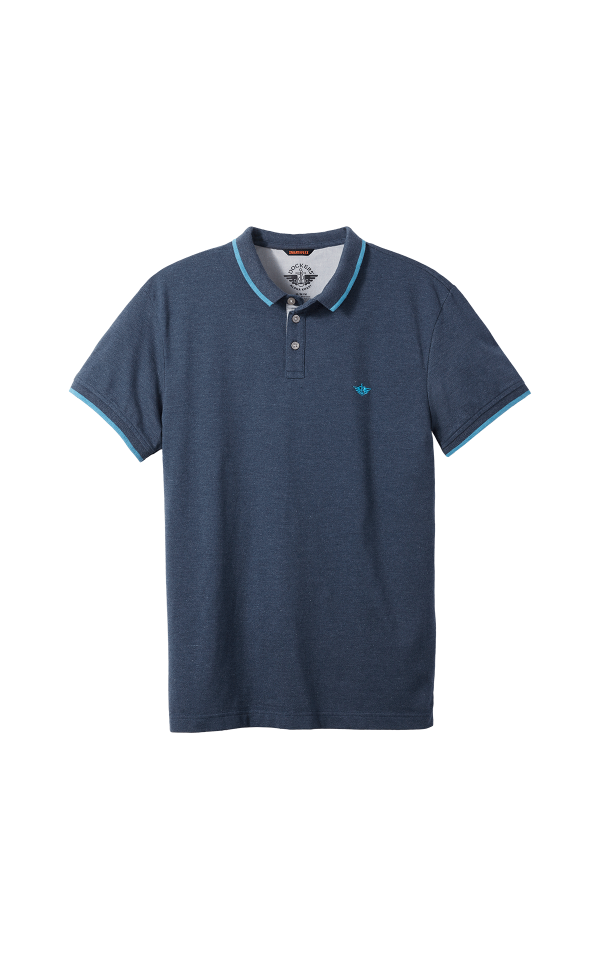 Bleu marines short sleeves polo shirt for man Dockers