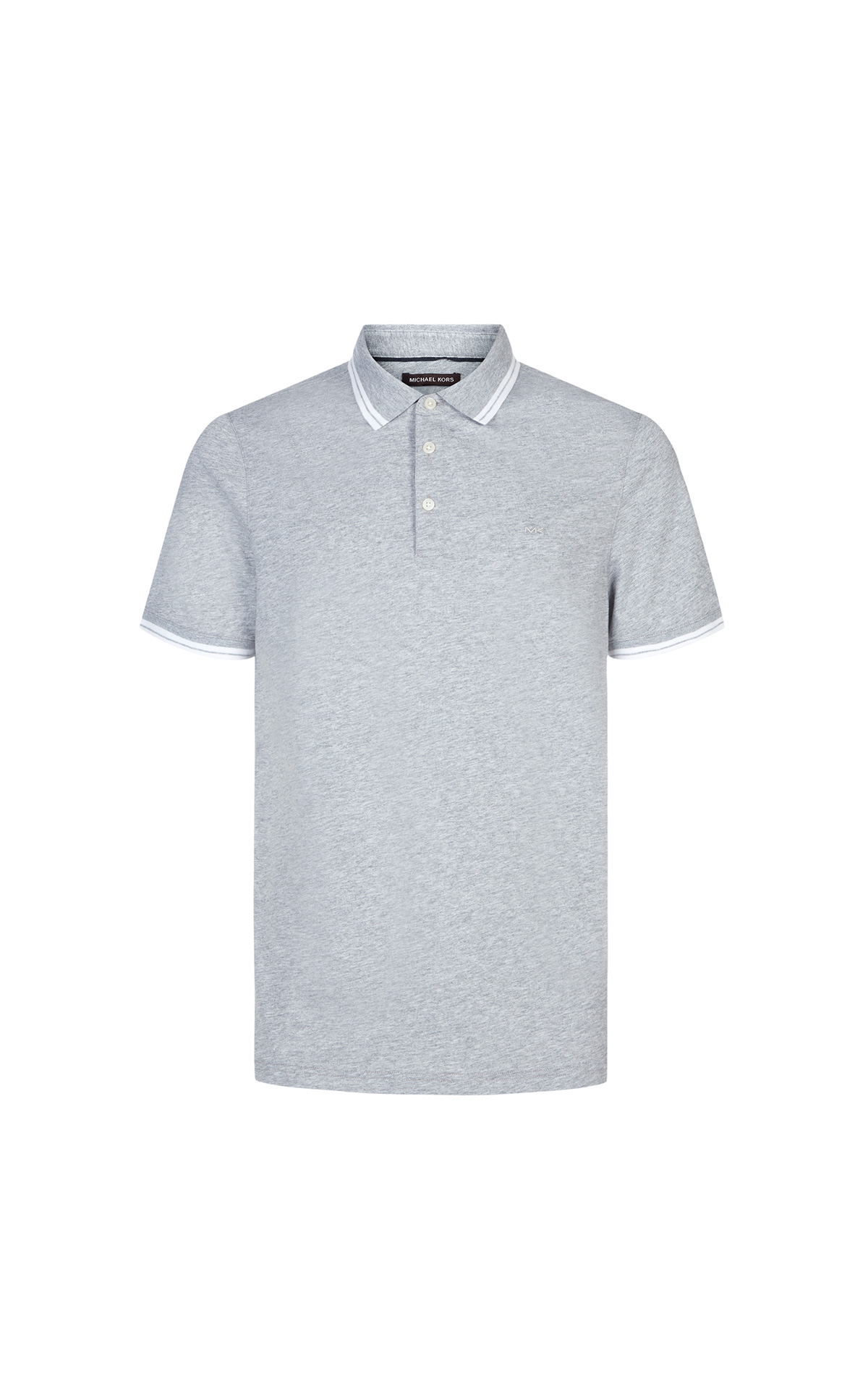 Michael Kors Greenwich Polo in heather grey at The Bicester Village Shopping Collection