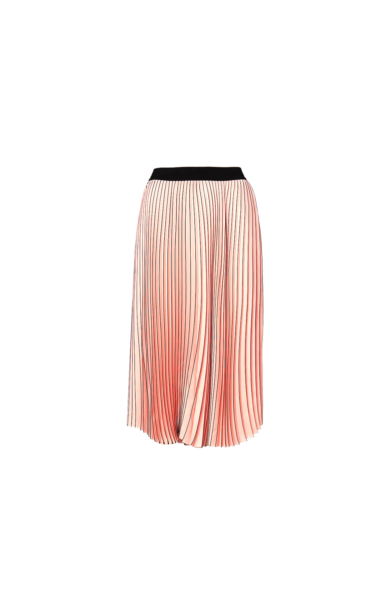 Logo pleated skirt Karl Lagerfeld