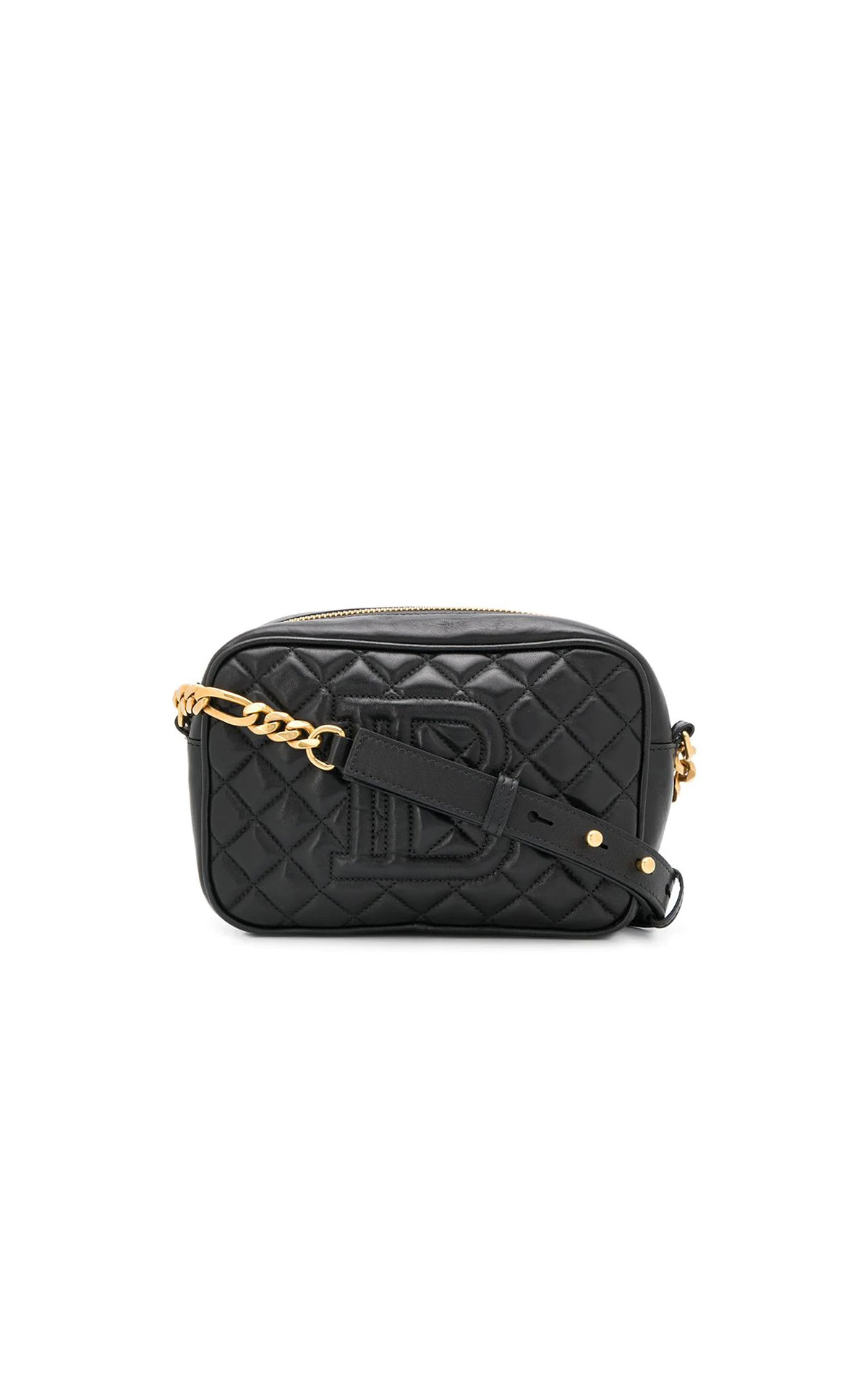 Balmain B Camera quilted crossbody bag from Bicester Village