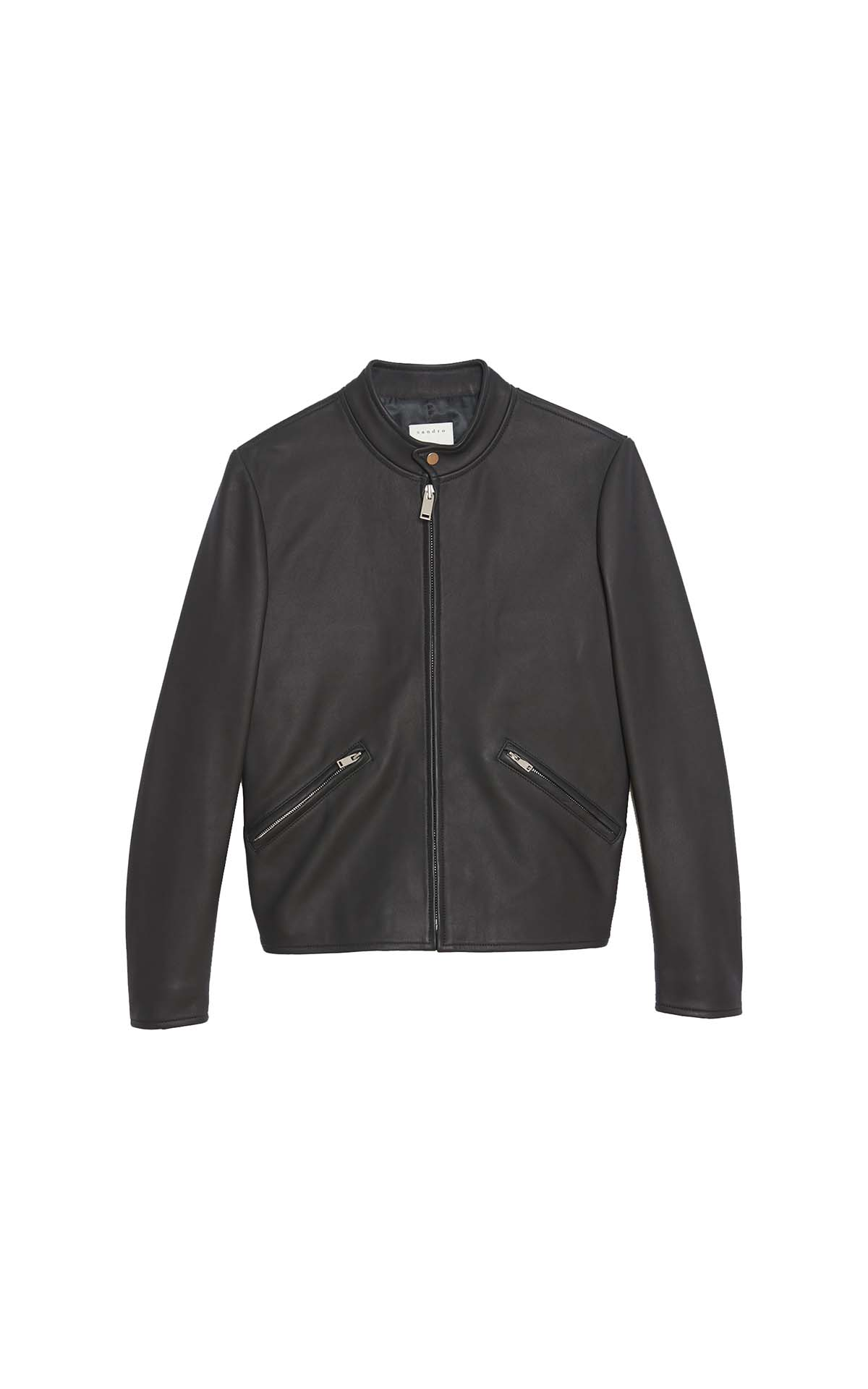 Sandro Black jacket at The Bicester Village Shopping Collection