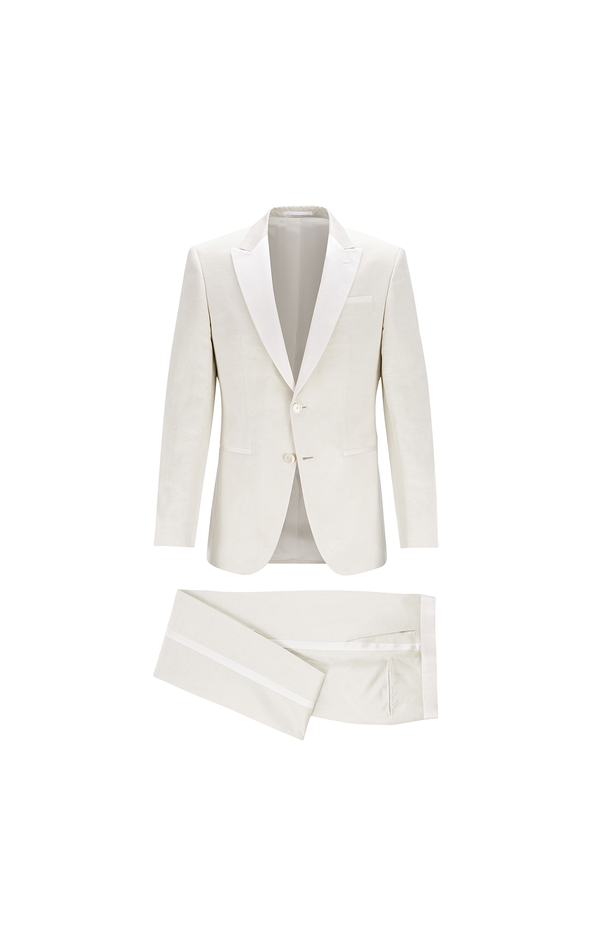 BOSS Men's slim-fit evening suit at The Bicester Village Shopping Collection