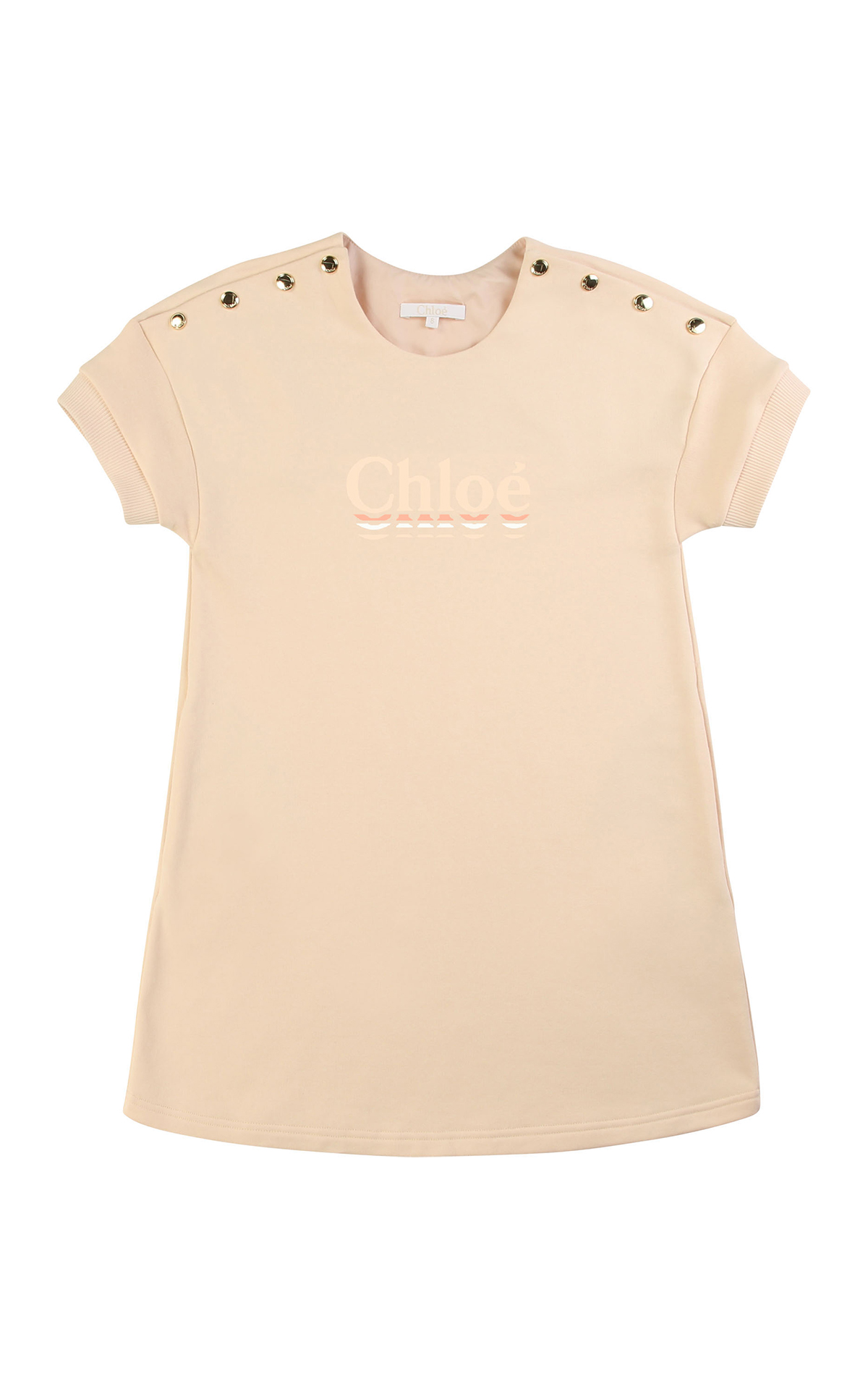 Vestido color crema de Chloé Kids Around