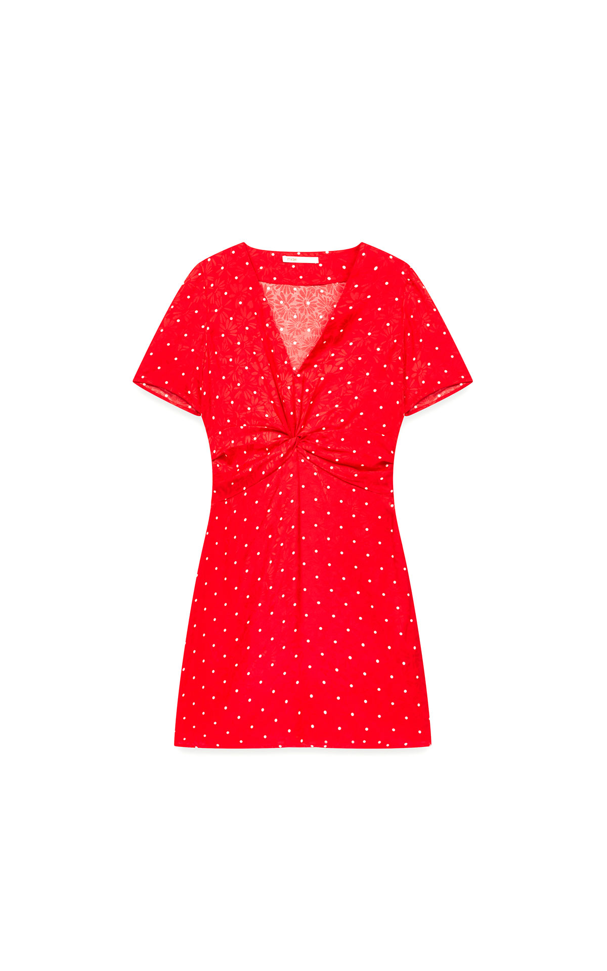 Maje polka dot jacquard dress at The Bicester Village Shopping Collection