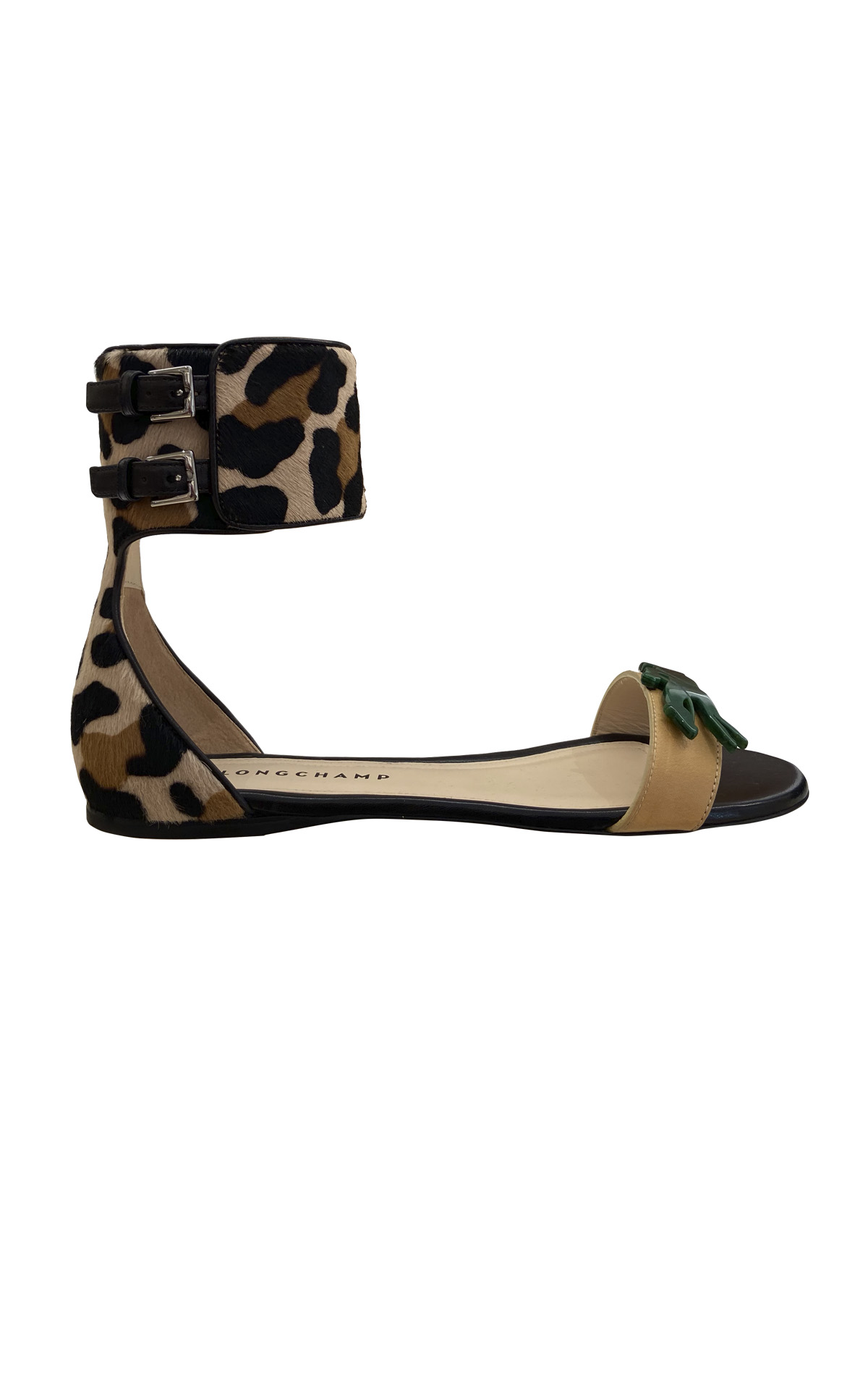 Leopard printed sandals Longchamp