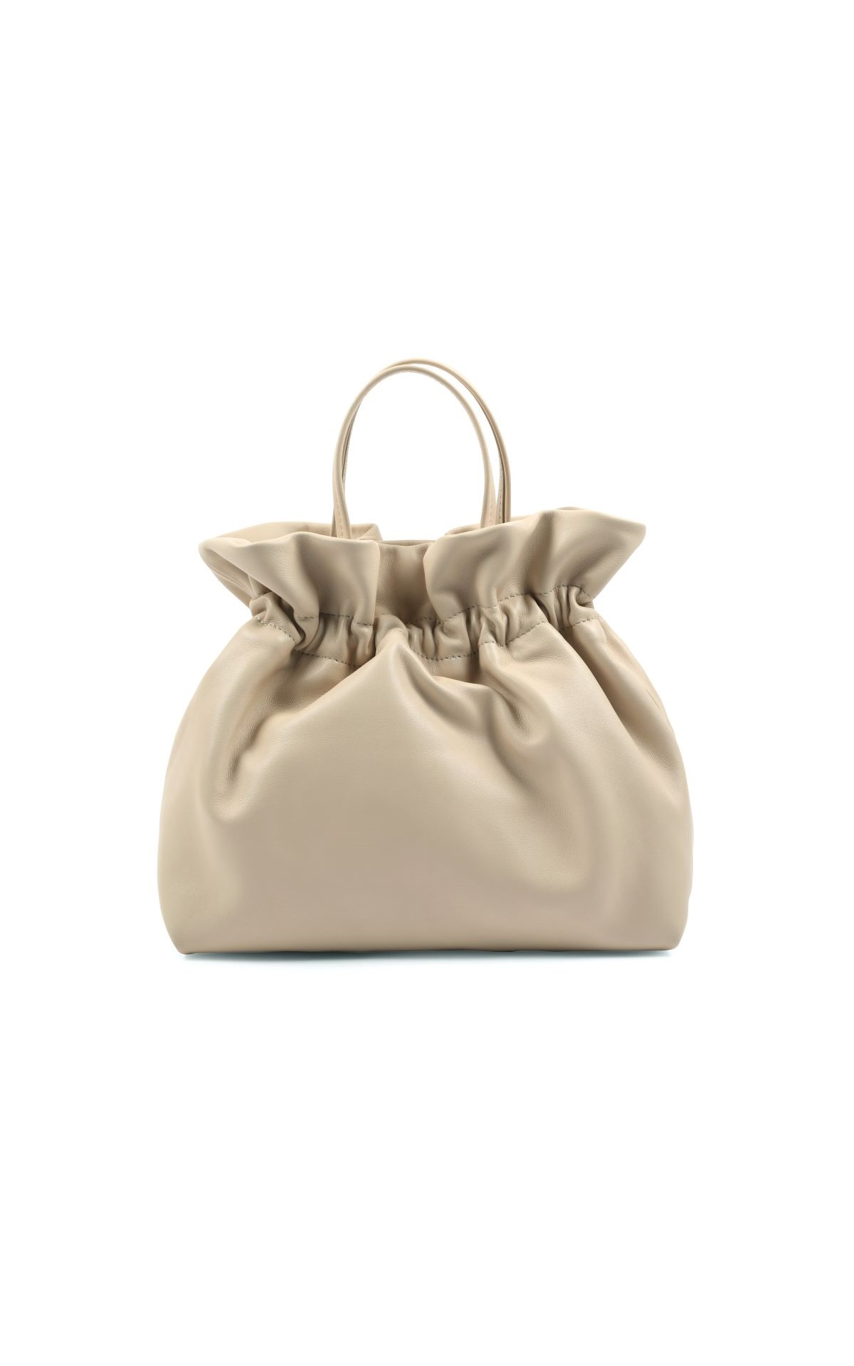 La Vallée Village Repetto Beige Lin Studio big bag