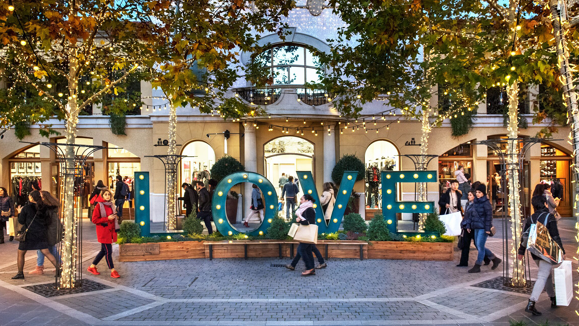 11 Villages at The Bicester Village Shopping Collection
