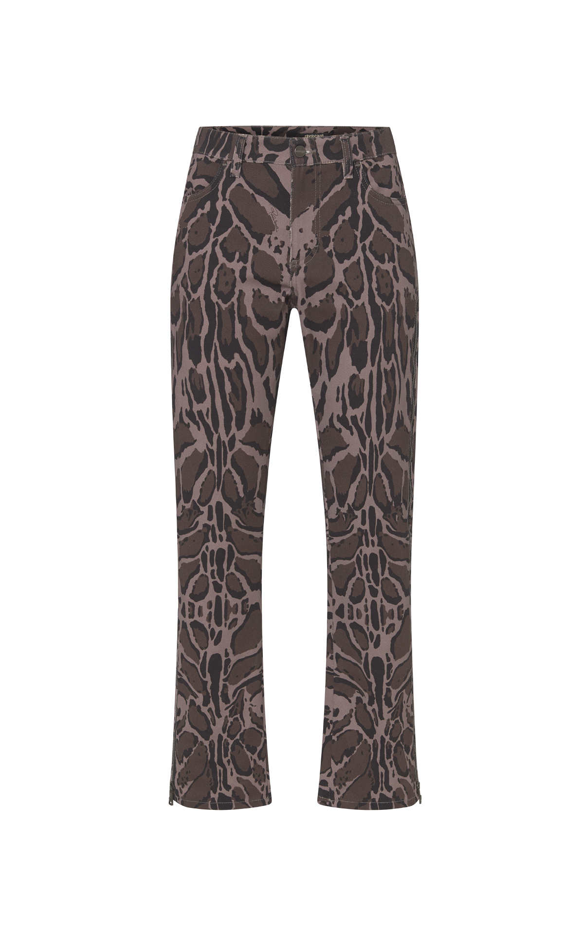 Animal print trousers Roberto Cavalli
