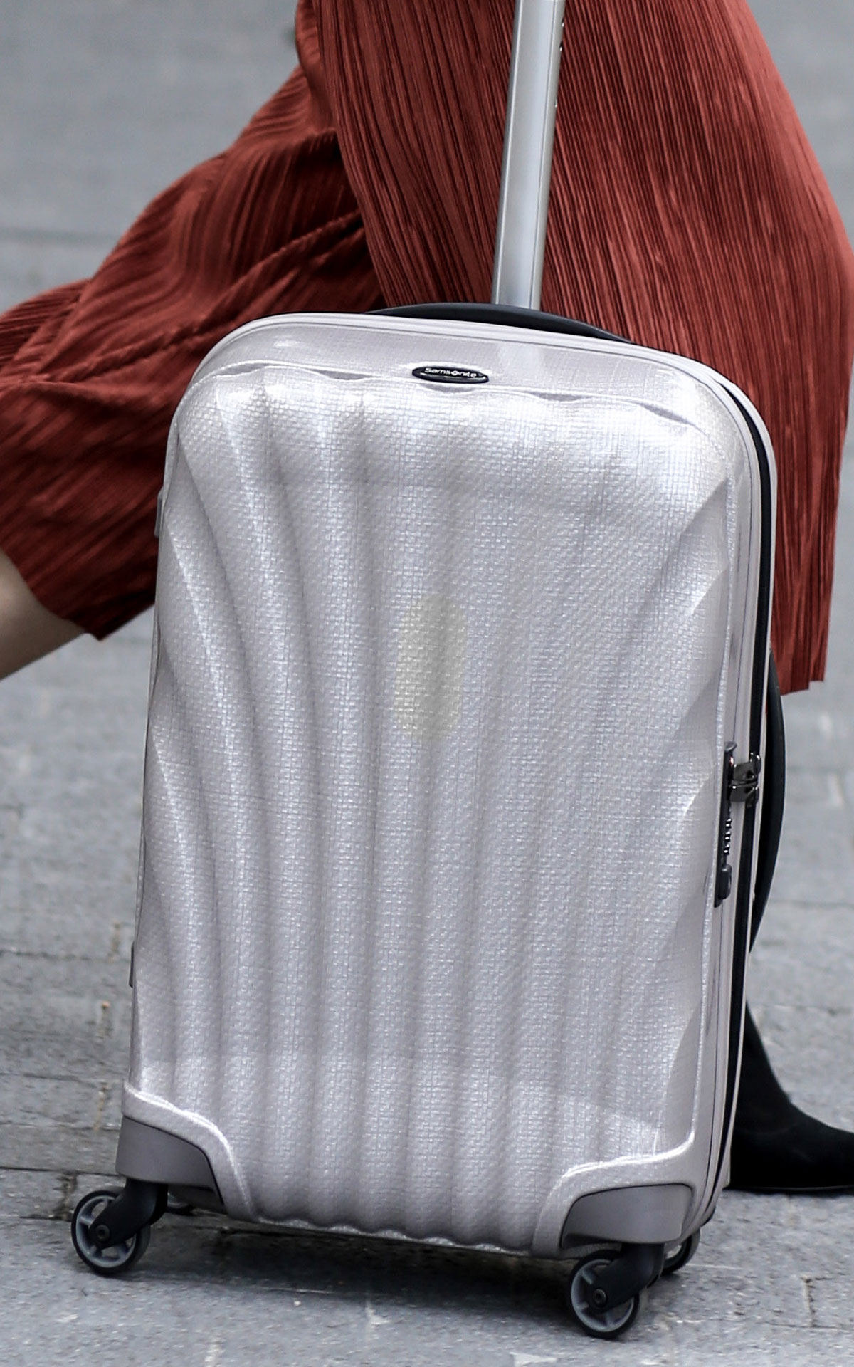 Samsonite travel luggage suitcase hero at Bicester Village
