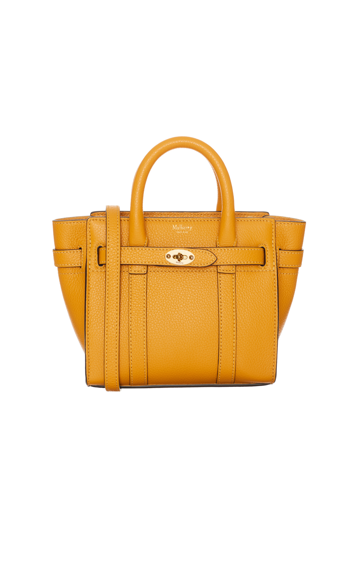 Mulberry Micro zipped Bayswater from Bicester Village