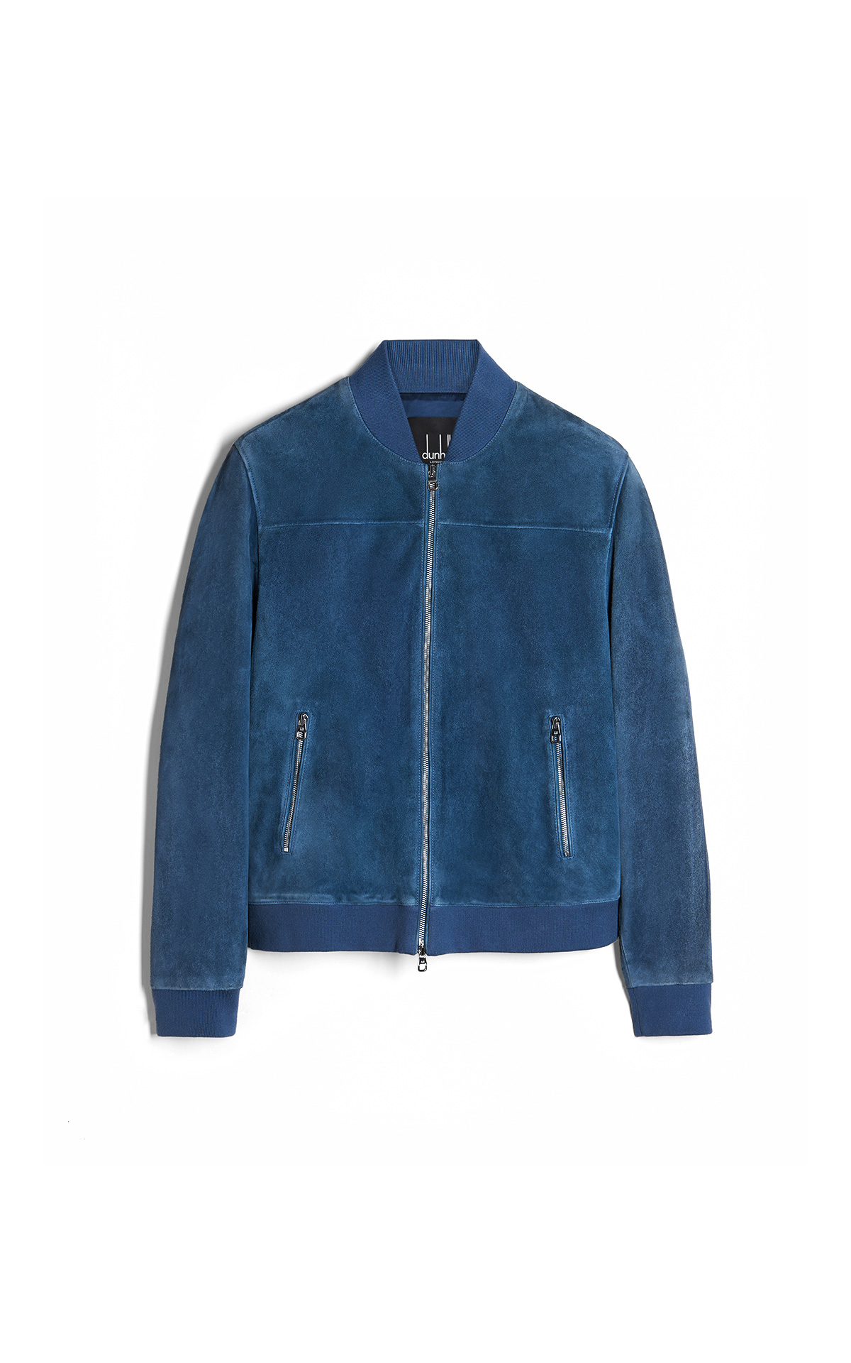 dunhill Blue suede jacket | La Vallée Village