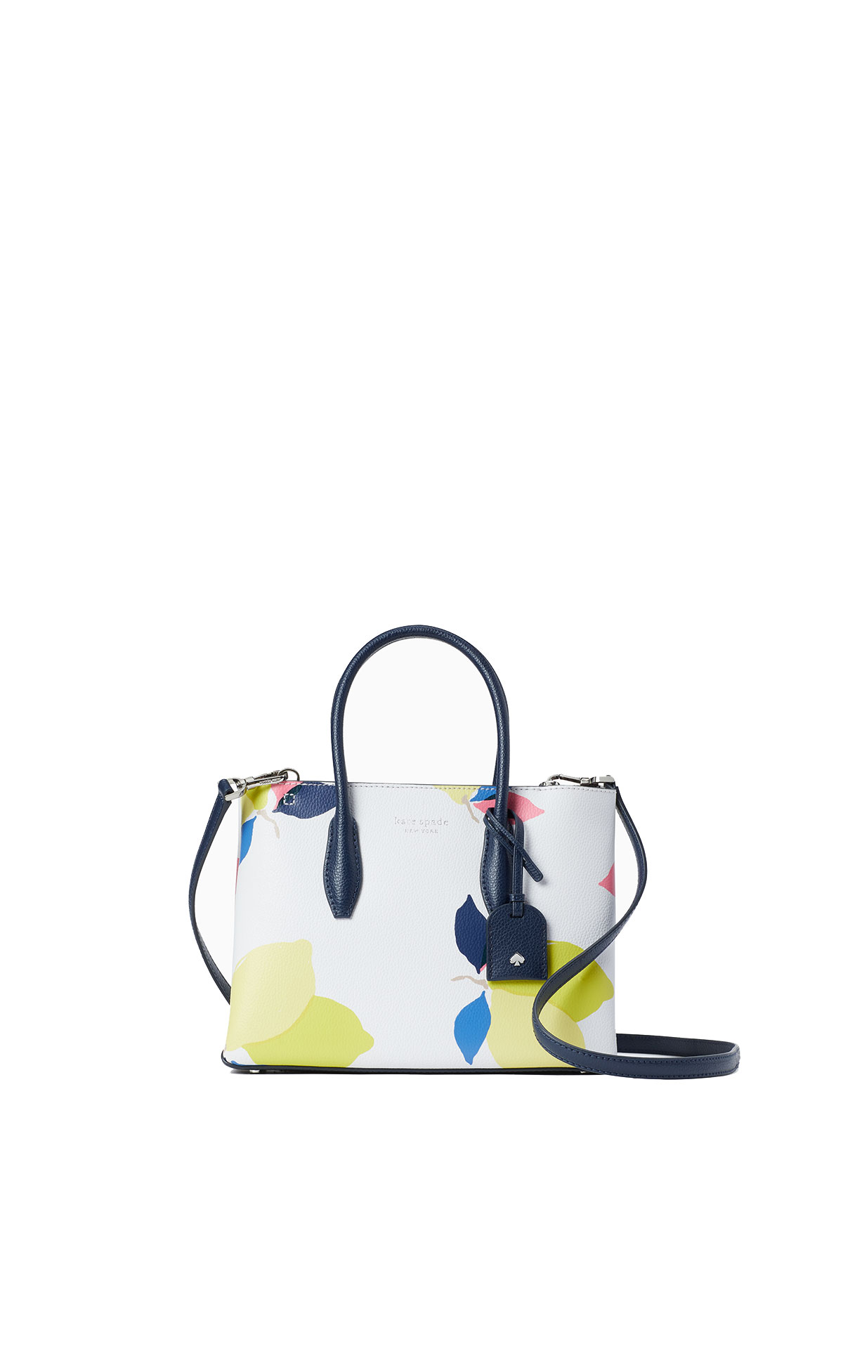 kate spade new york Eva lemon zest small top zip satchel from Bicester Village