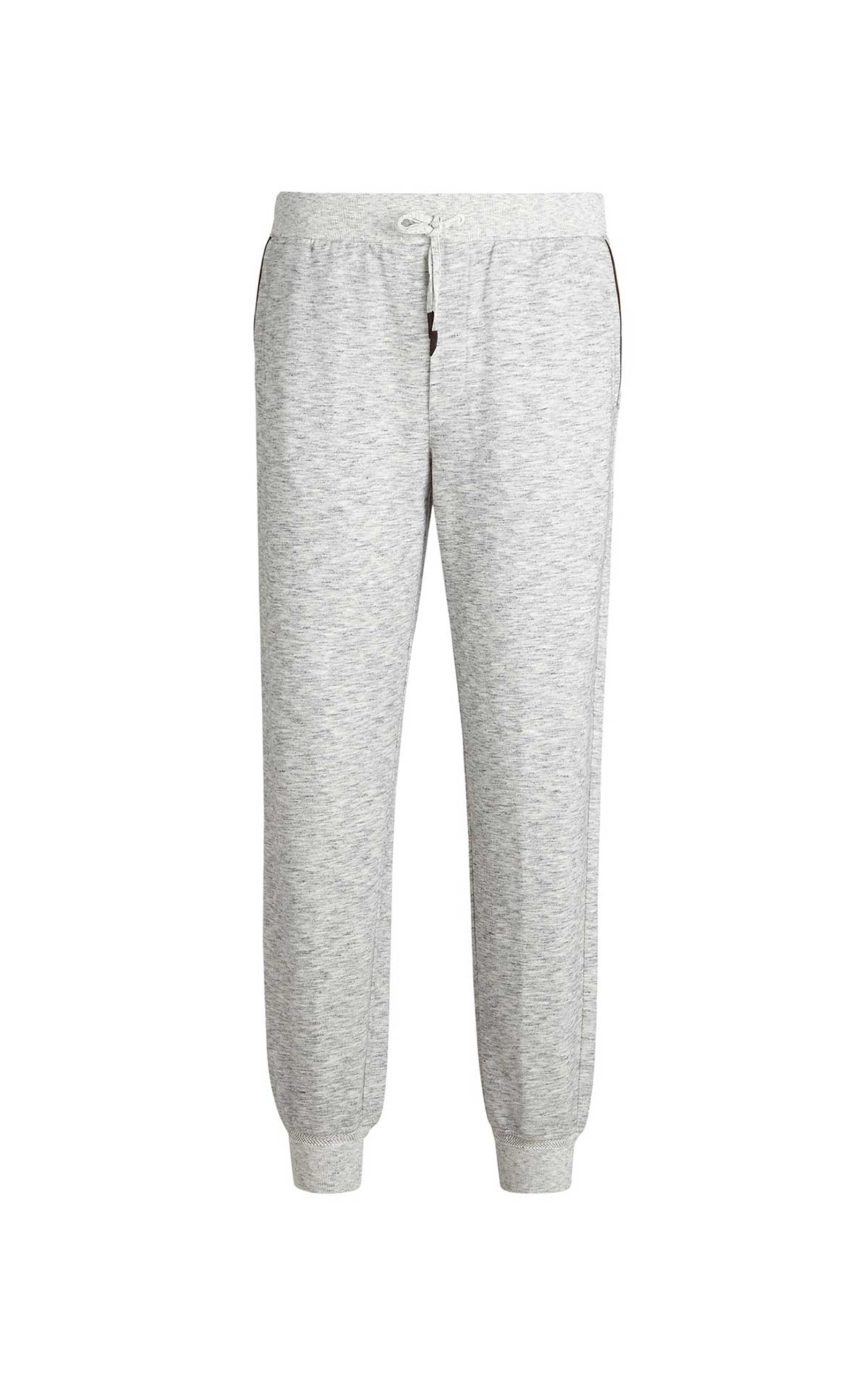 Grey cotton training pants for man Ermenegildo Zegna