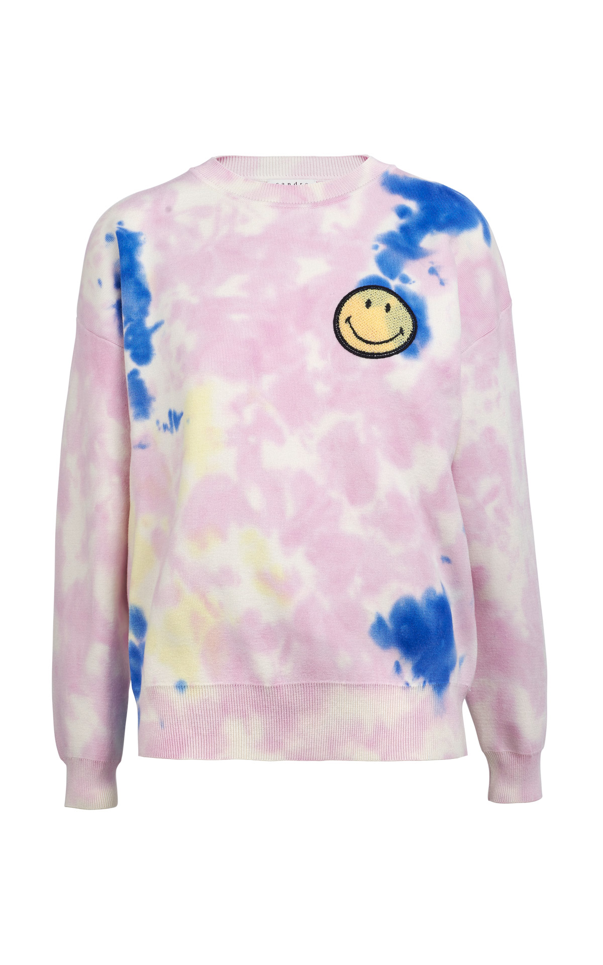 Purple tie dye sweatshirt Sandro