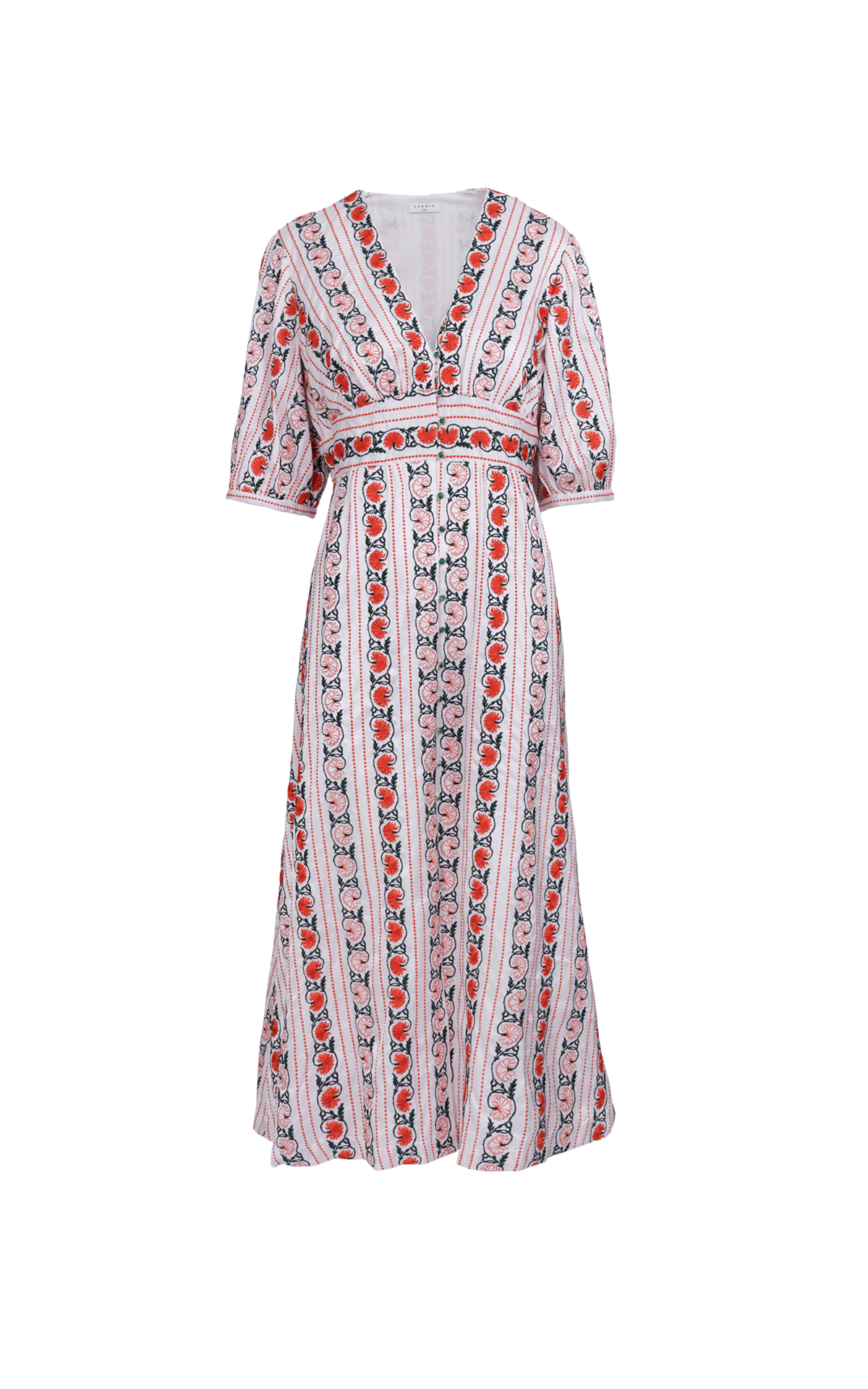 Printed dress Sandro