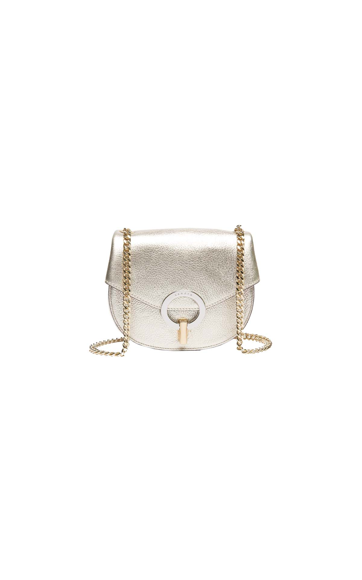 Sandro pepita cross-body bag at The Bicester Village Shopping Collection