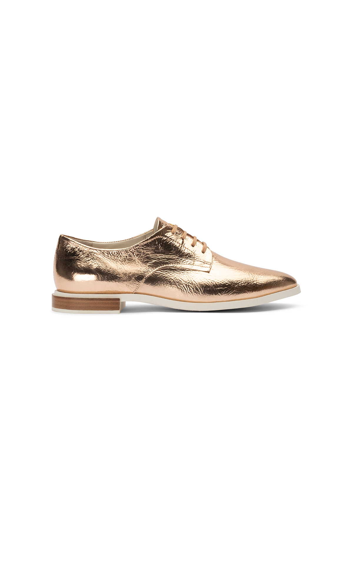 Golden shoe woman Lottusse