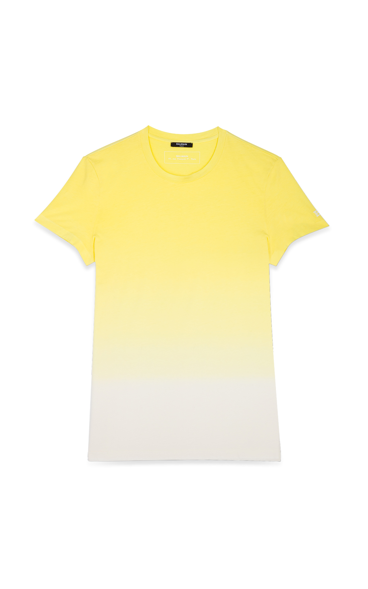 La Vallée Village Balmain yellow t-shirt