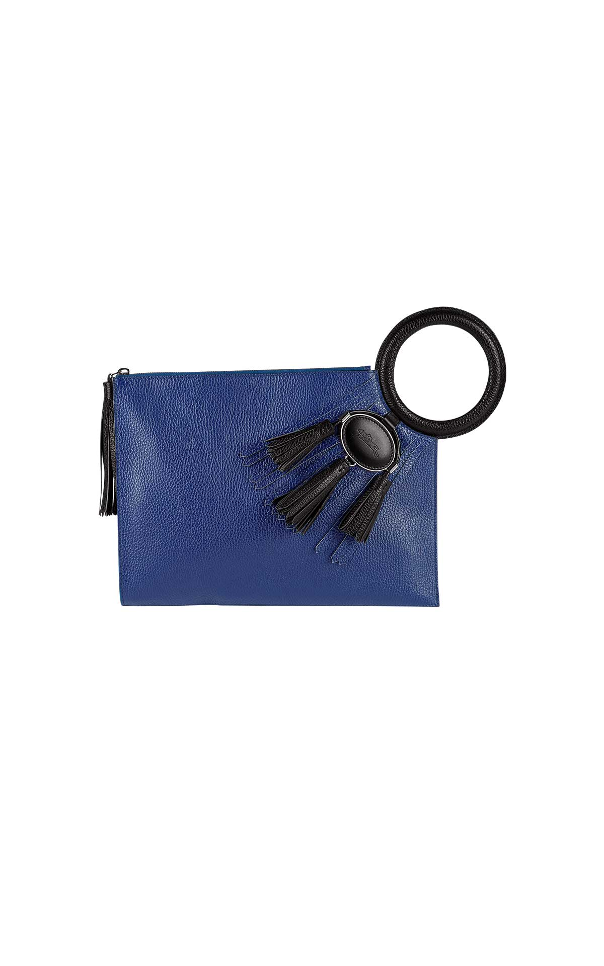 Blue handbag Longchamp