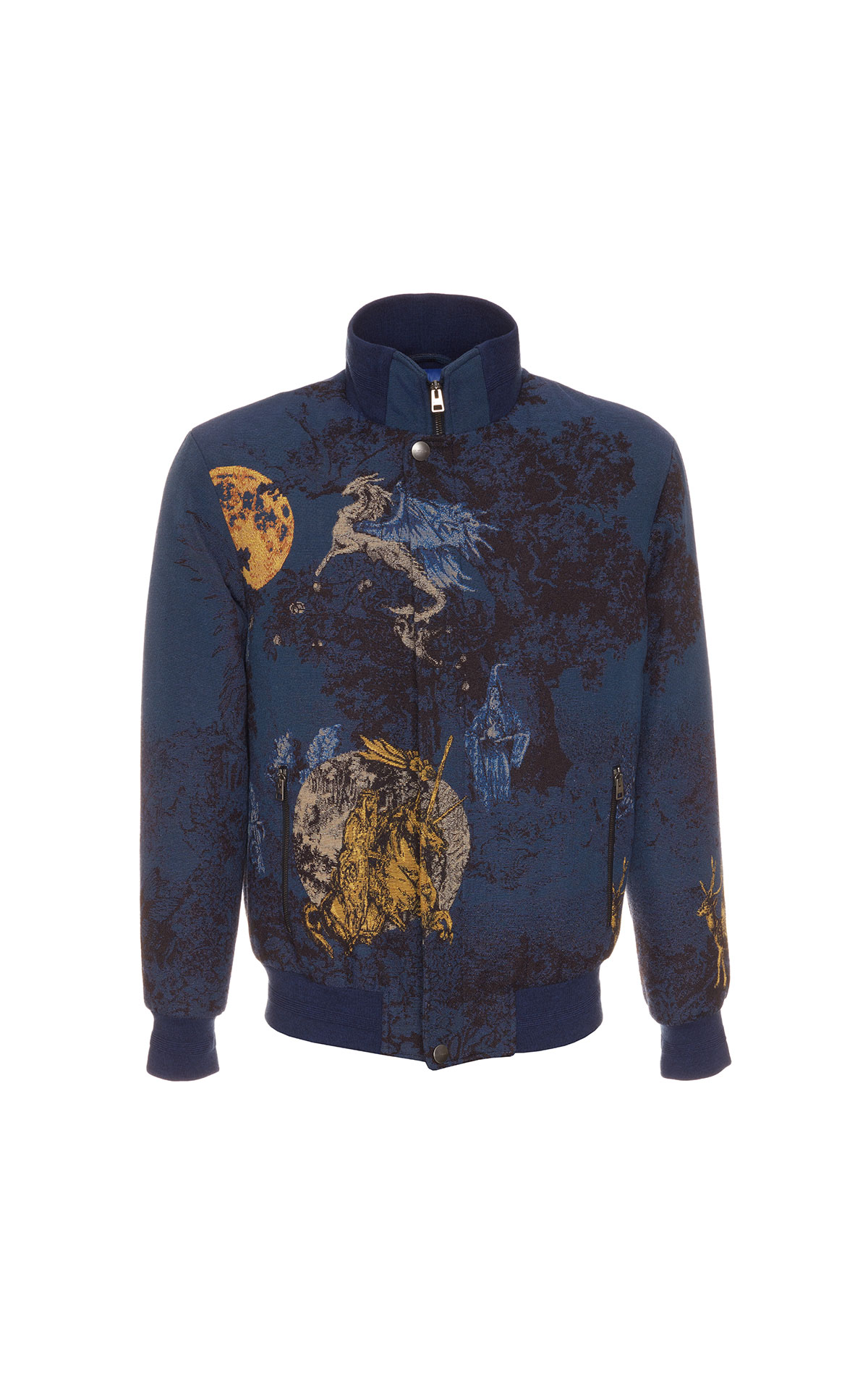 Etro Bomber jacket men's fantasy print from Bicester Village