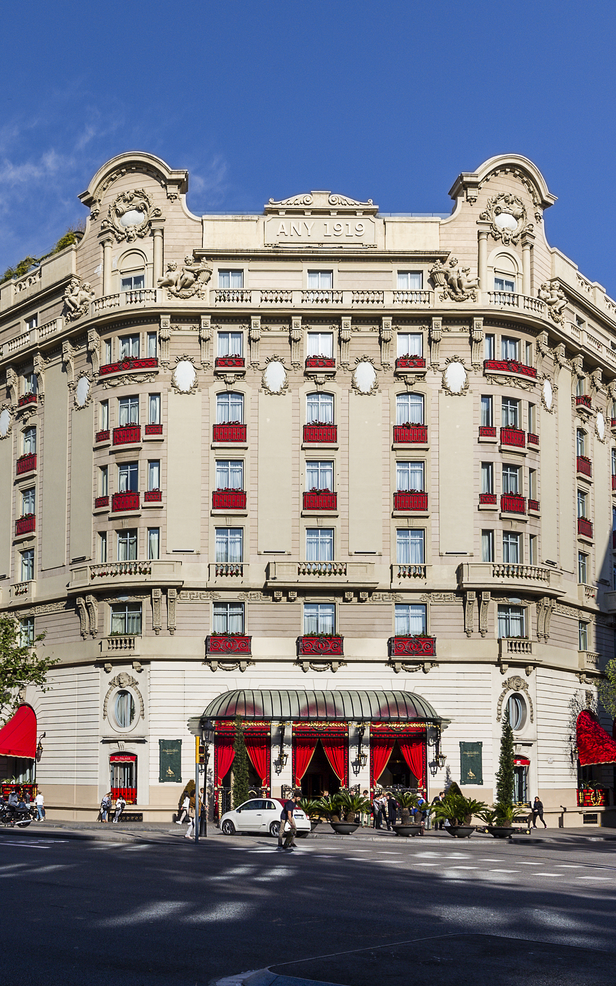 Palace hotel in Barcelona