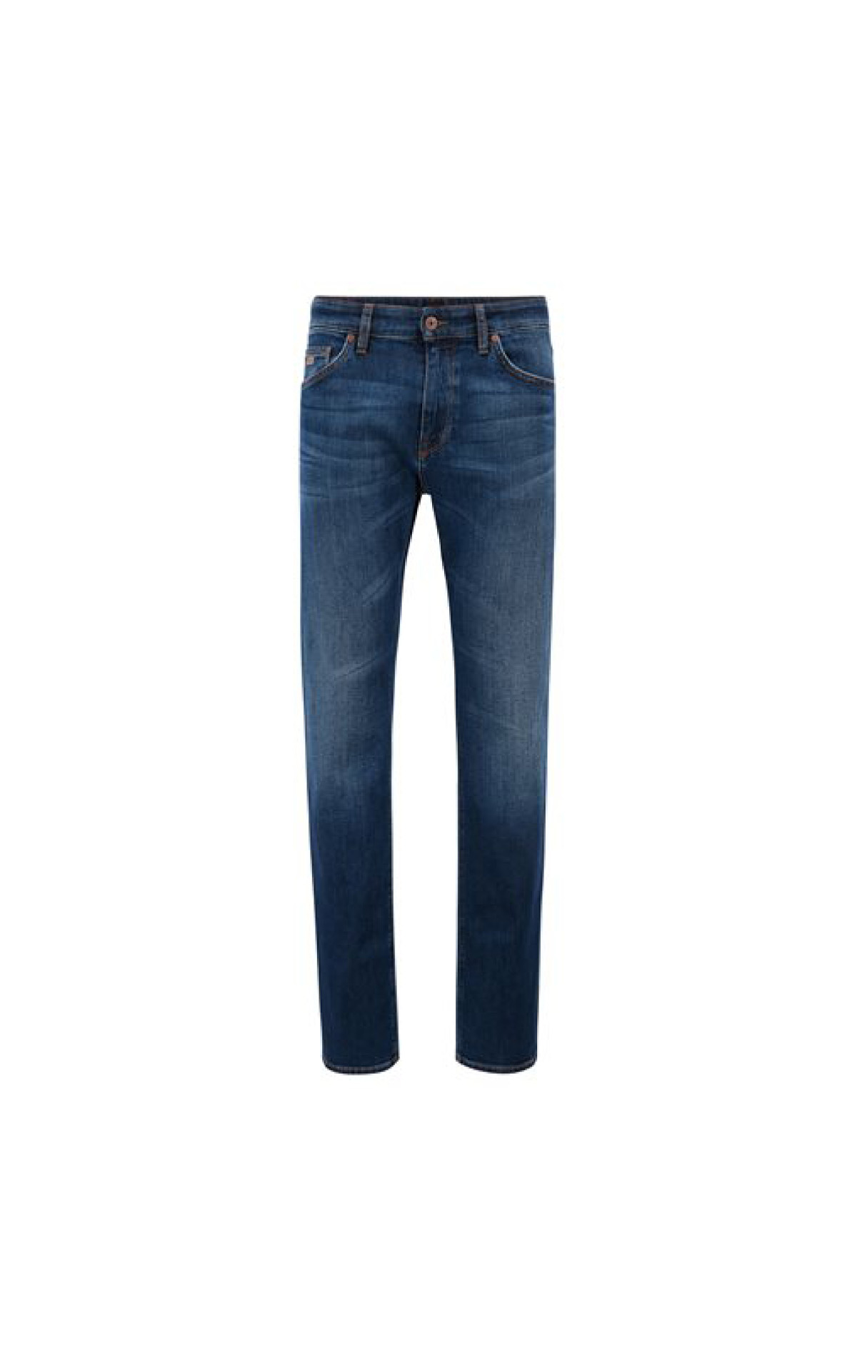 Boss Maine3 Regular-fit Jeans in Medium Blue Comfort Stretch Denim at The Bicester Village Shopping Collection