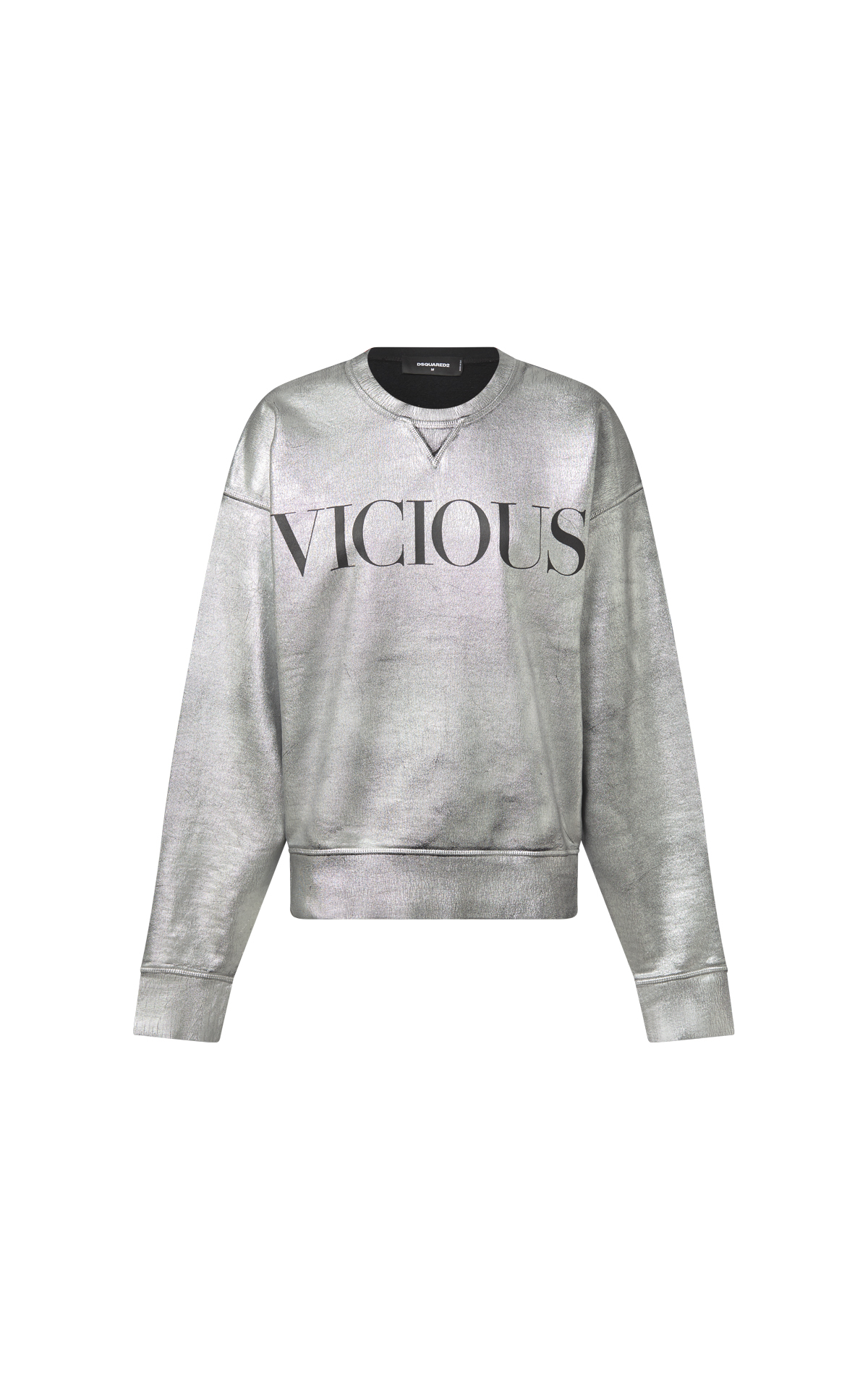 Silver sweatshirt Dsquared2