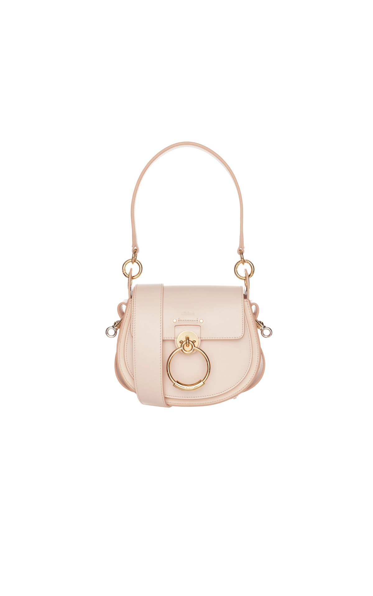 Chloe Tess shoulder bag pink from Bicester Village