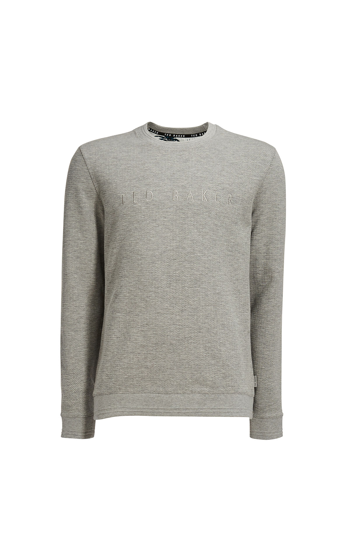Ted Baker Porin grey branded sweatshirt from Bicester Village