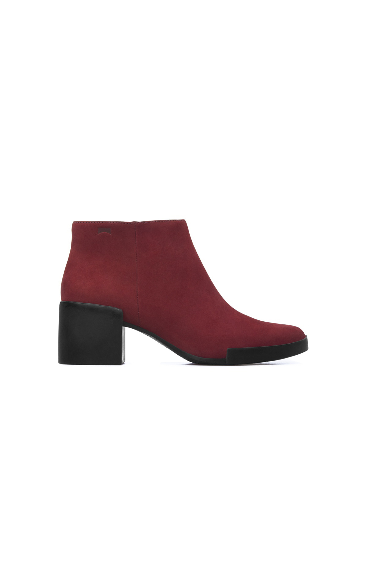 Red ankle boot woman Camper