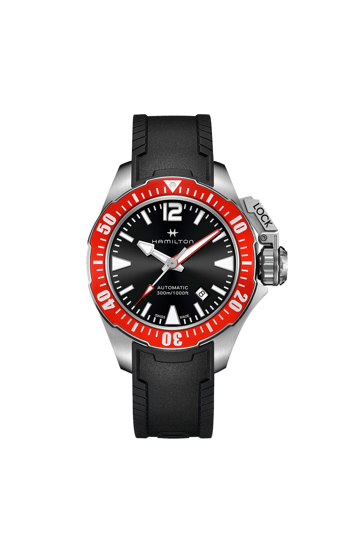 Hamilton Frogman watch Hour Passion