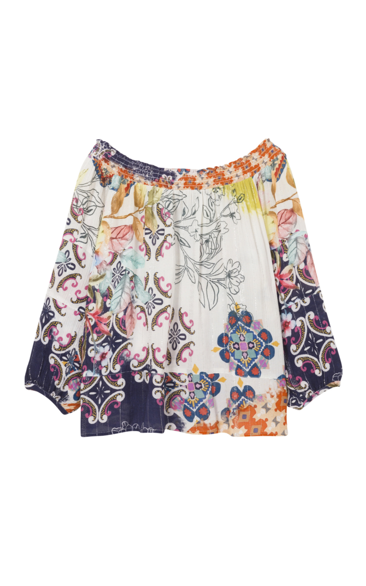 Women's loose print blouse Desigual