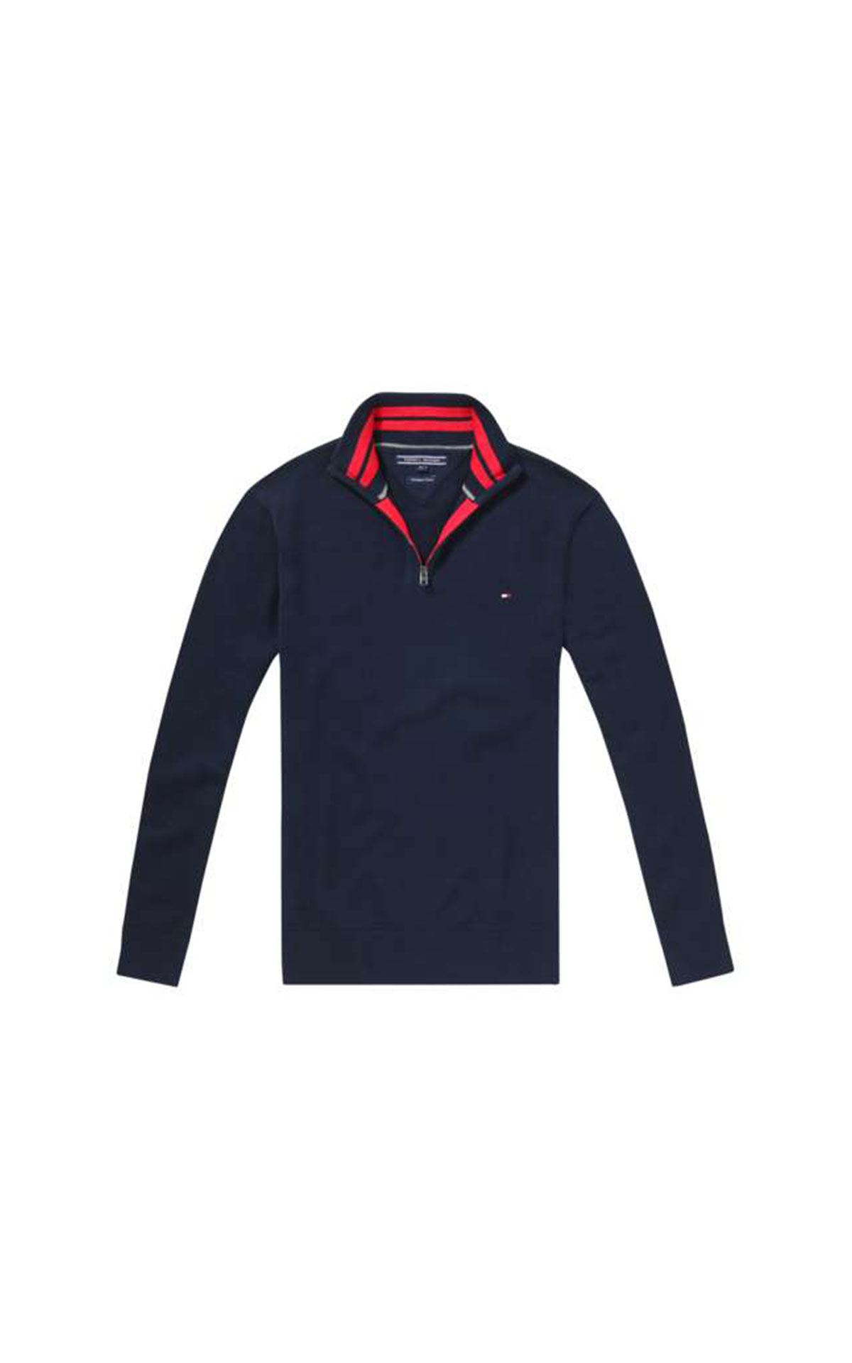 Tommy Hilfiger Men's Atlantic Zip Mock Neck at The Bicester Village Shopping Collection