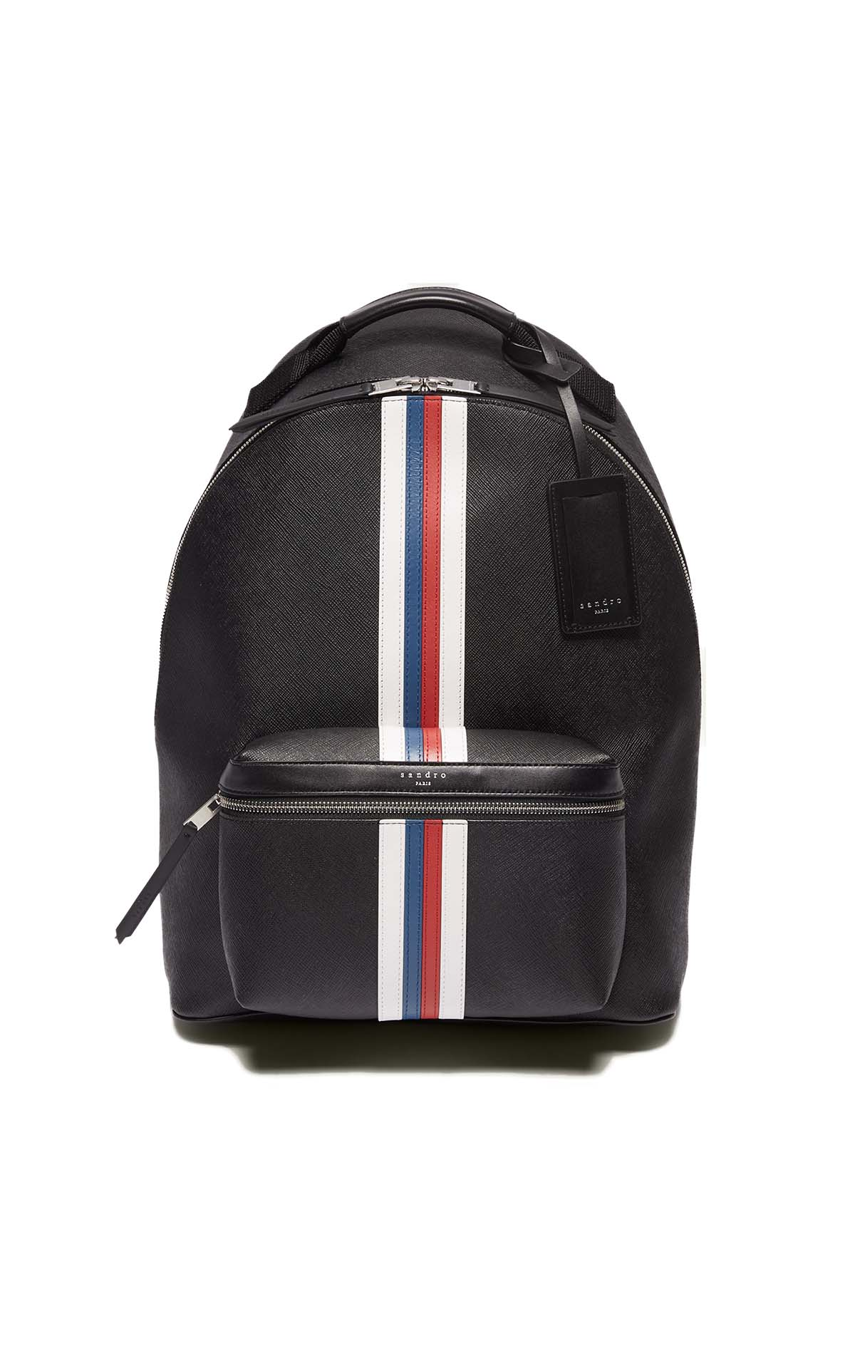 Sandro black backpack at The Bicester Village Shopping Collection