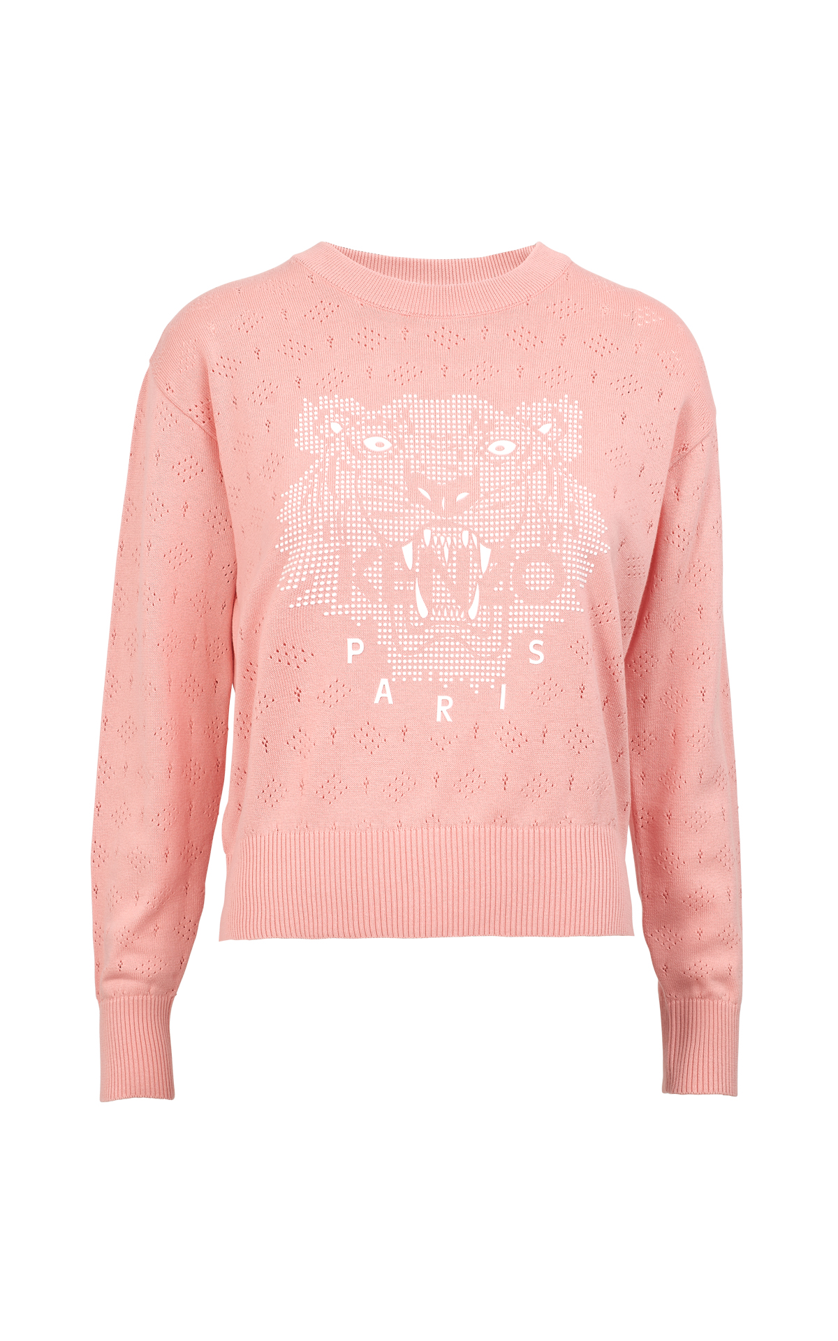 Pink sweater with logo Kenzo