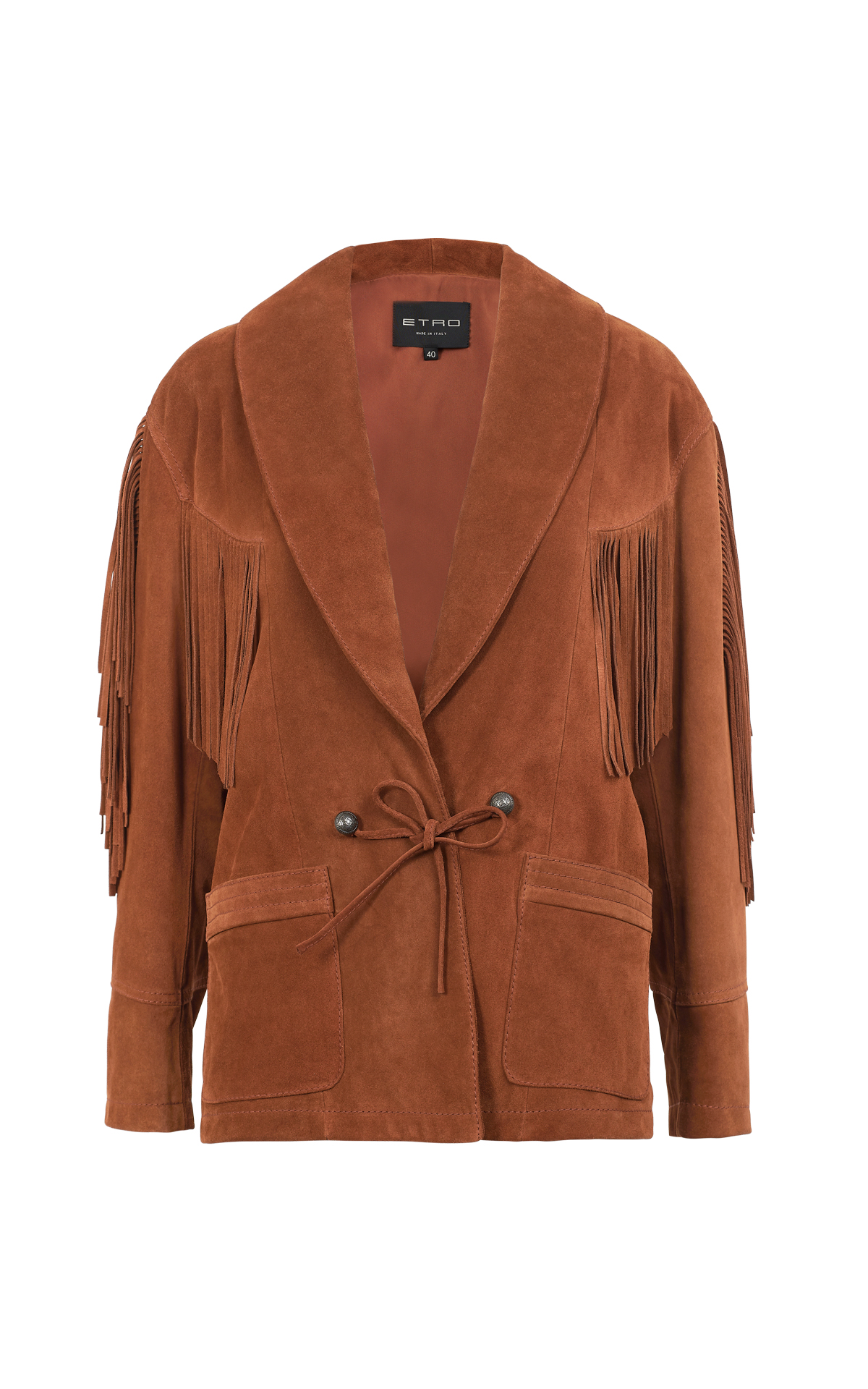 Fringed suede jacket Etro