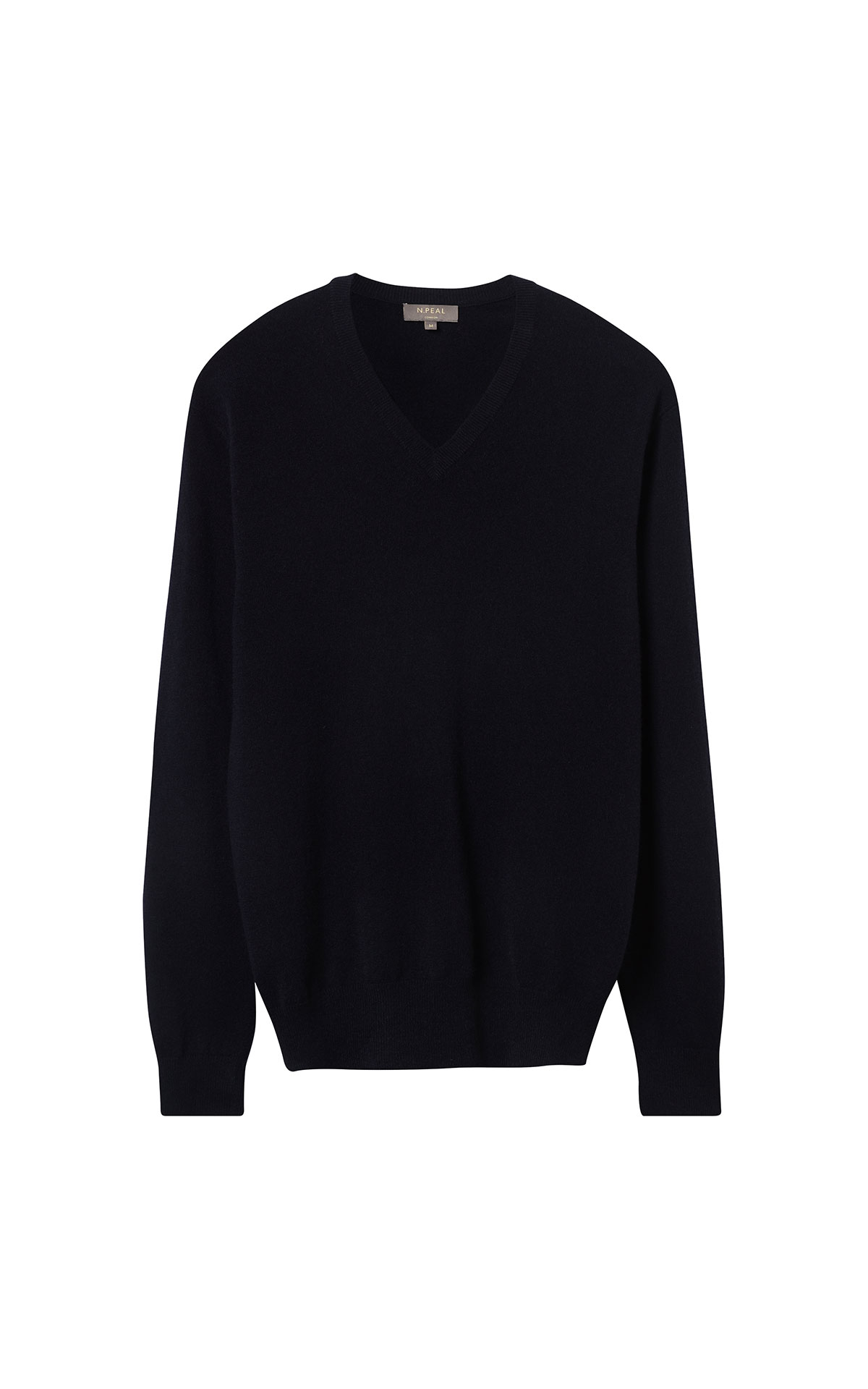 N.Peal Round neck sweater black from Bicester Village