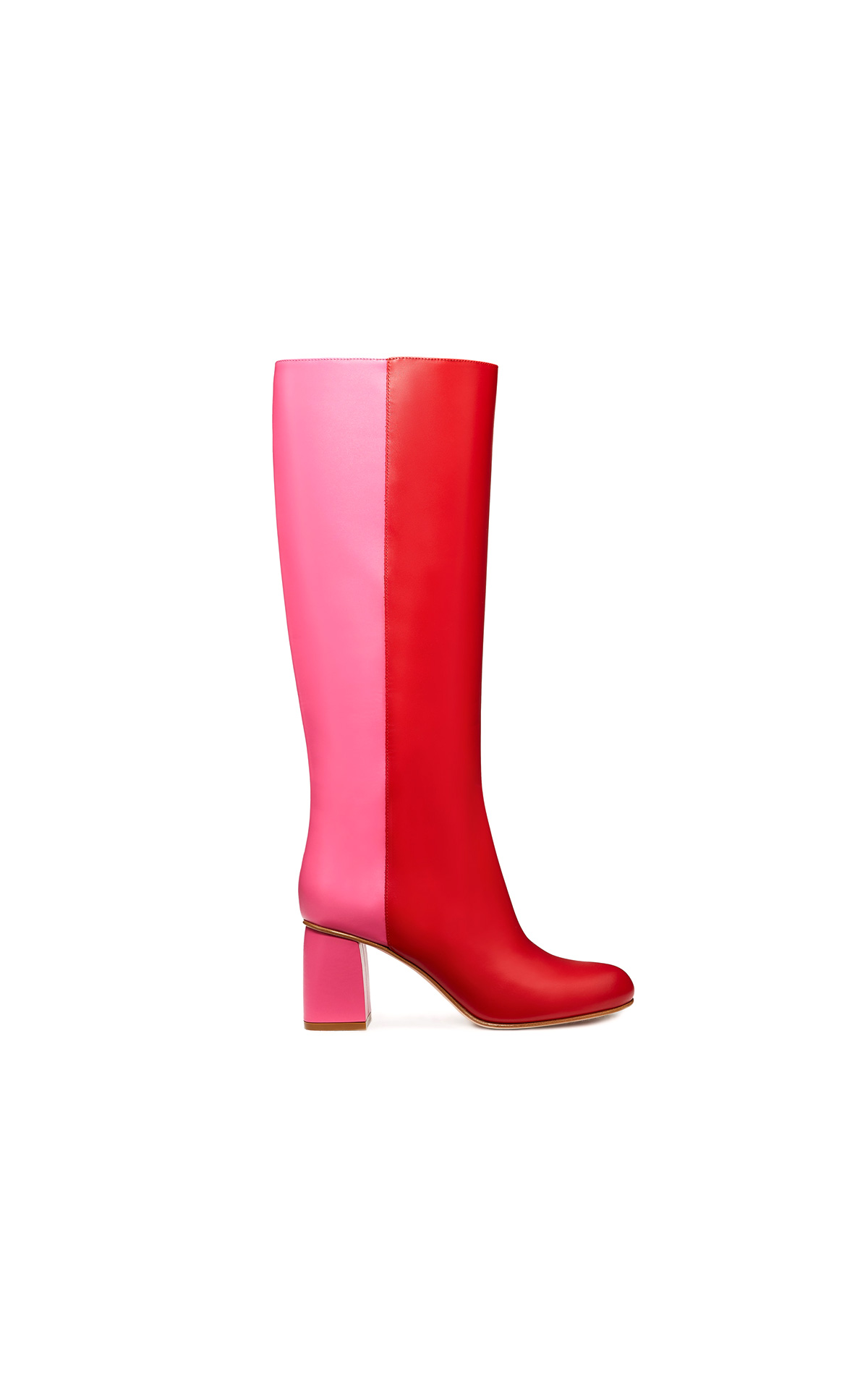 REDValentino Red and pink two-coloured boots | La Vallée Village