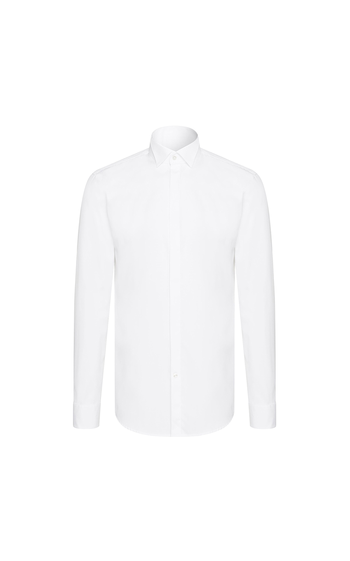 BOSS Men's slim-fit popeline shirt at The Bicester Village Shopping Collection